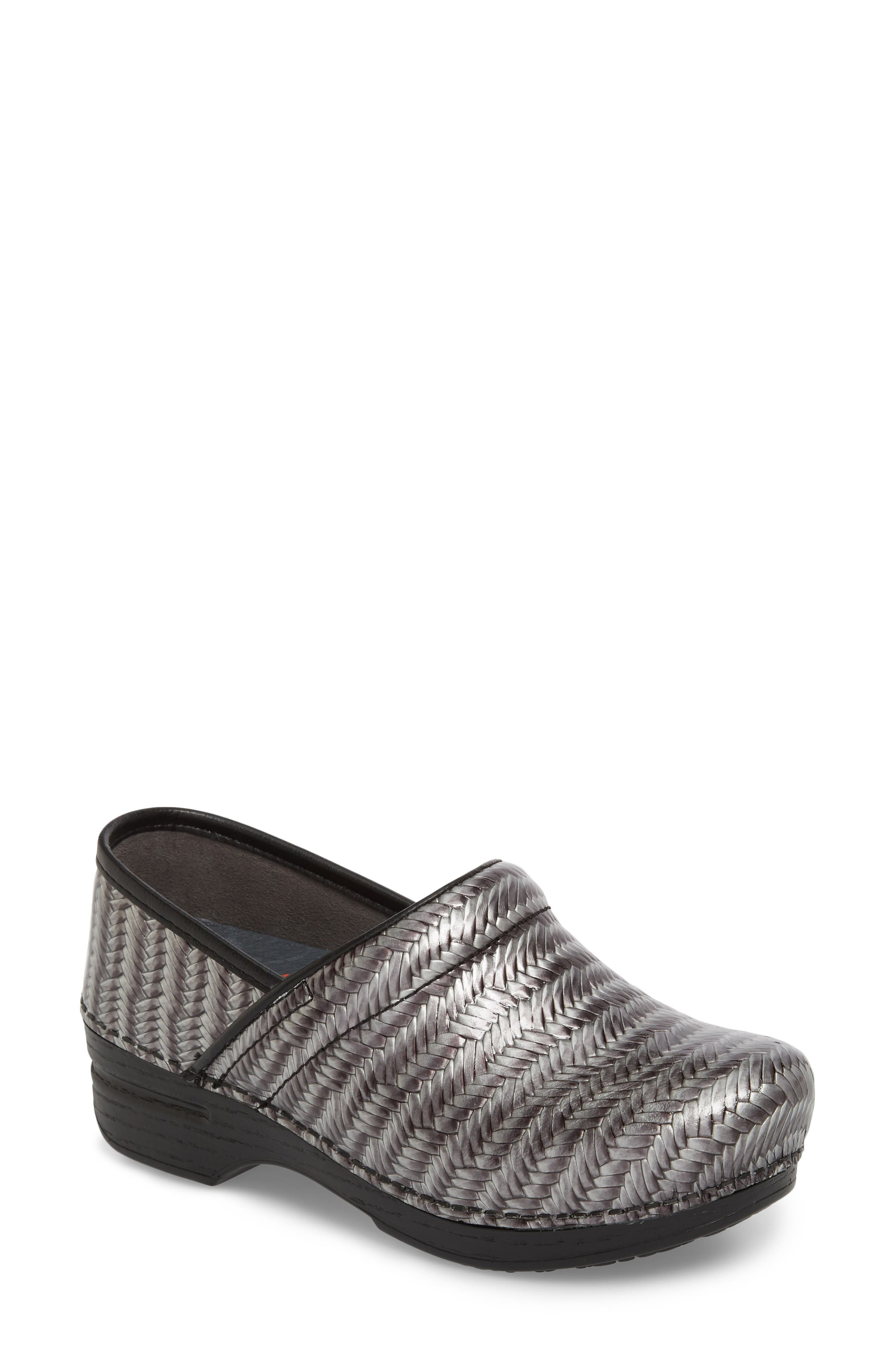 Pro XP Clog,                         Main,                         color, GREY PATENT LEATHER