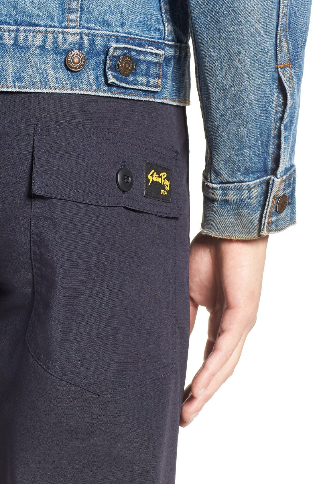 Slim Fit Four Pocket Fatigue Pants,                             Alternate thumbnail 2, color,                             410