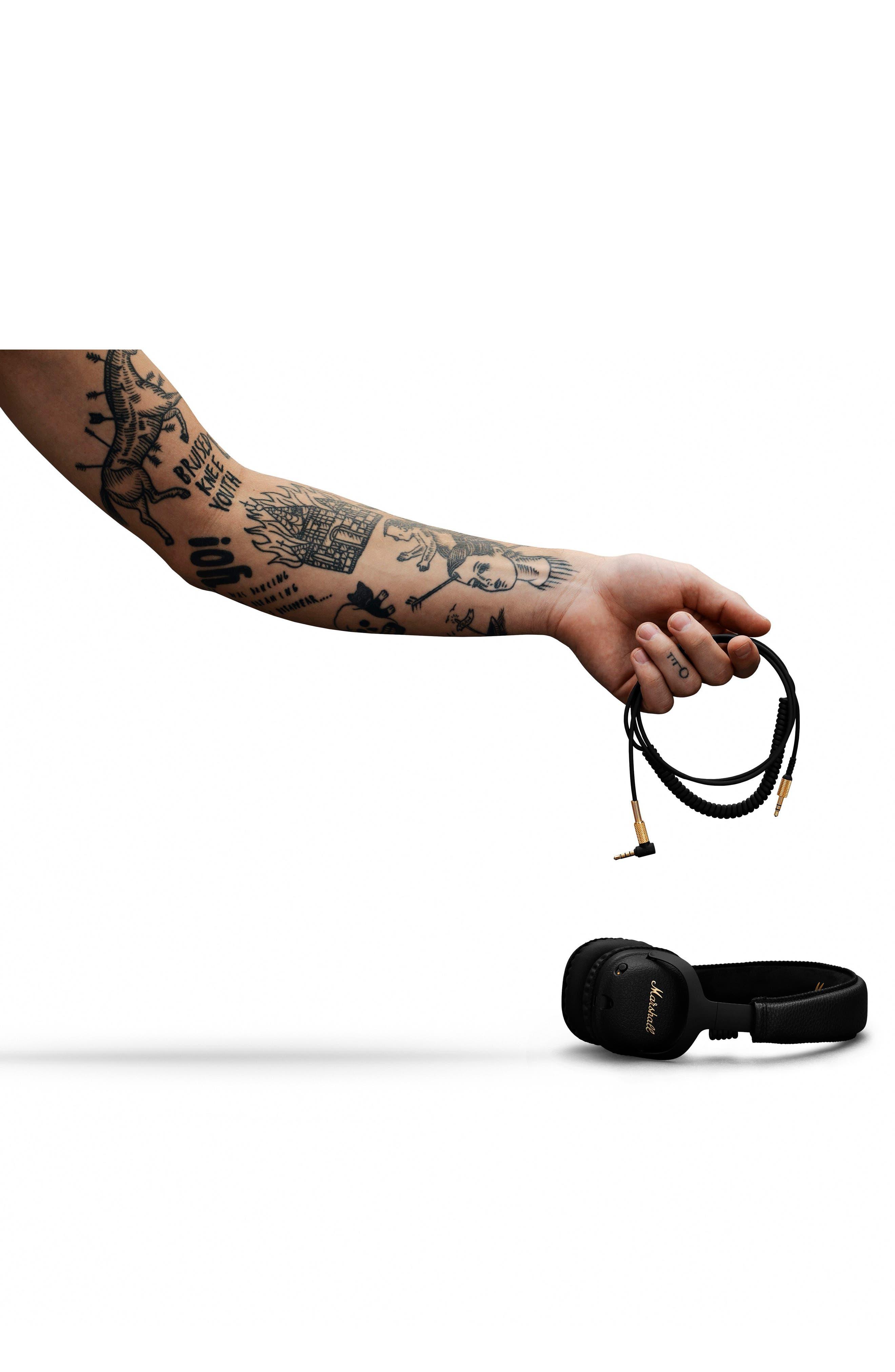MID ANC Bluetooth<sup>®</sup> On-Ear Headphones,                             Alternate thumbnail 9, color,                             BLACK