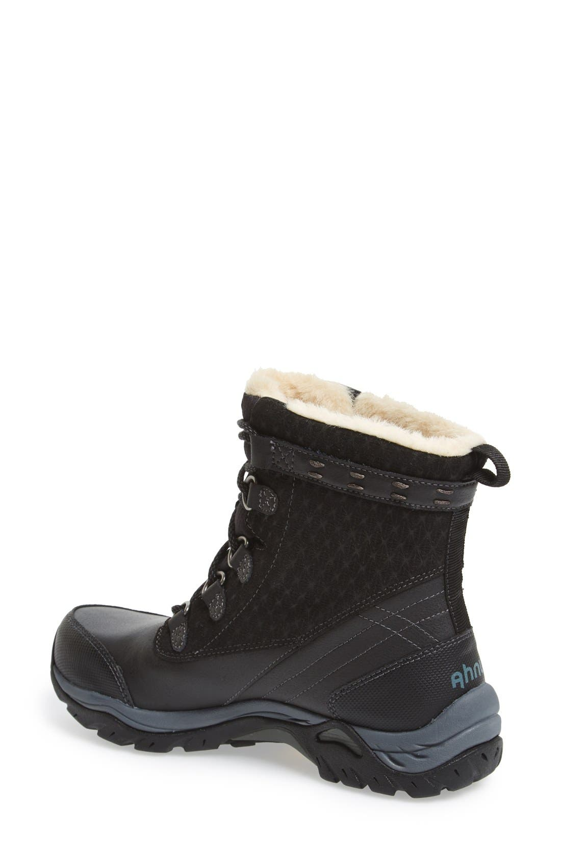 'Twain Harte' Insulated Waterproof Boot,                             Alternate thumbnail 3, color,                             001