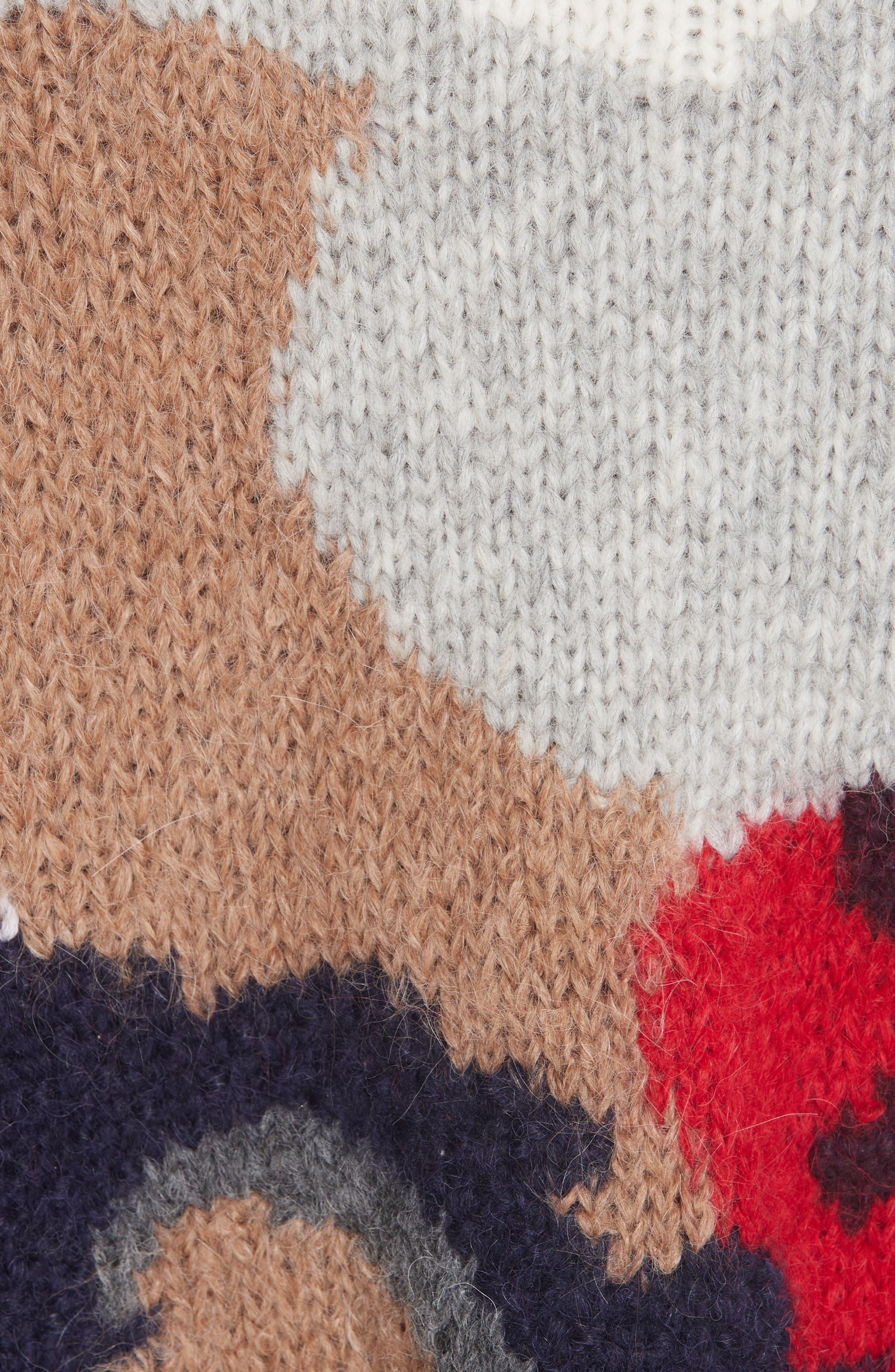 Kira Alpaca Blend Sweater,                             Alternate thumbnail 5, color,                             020