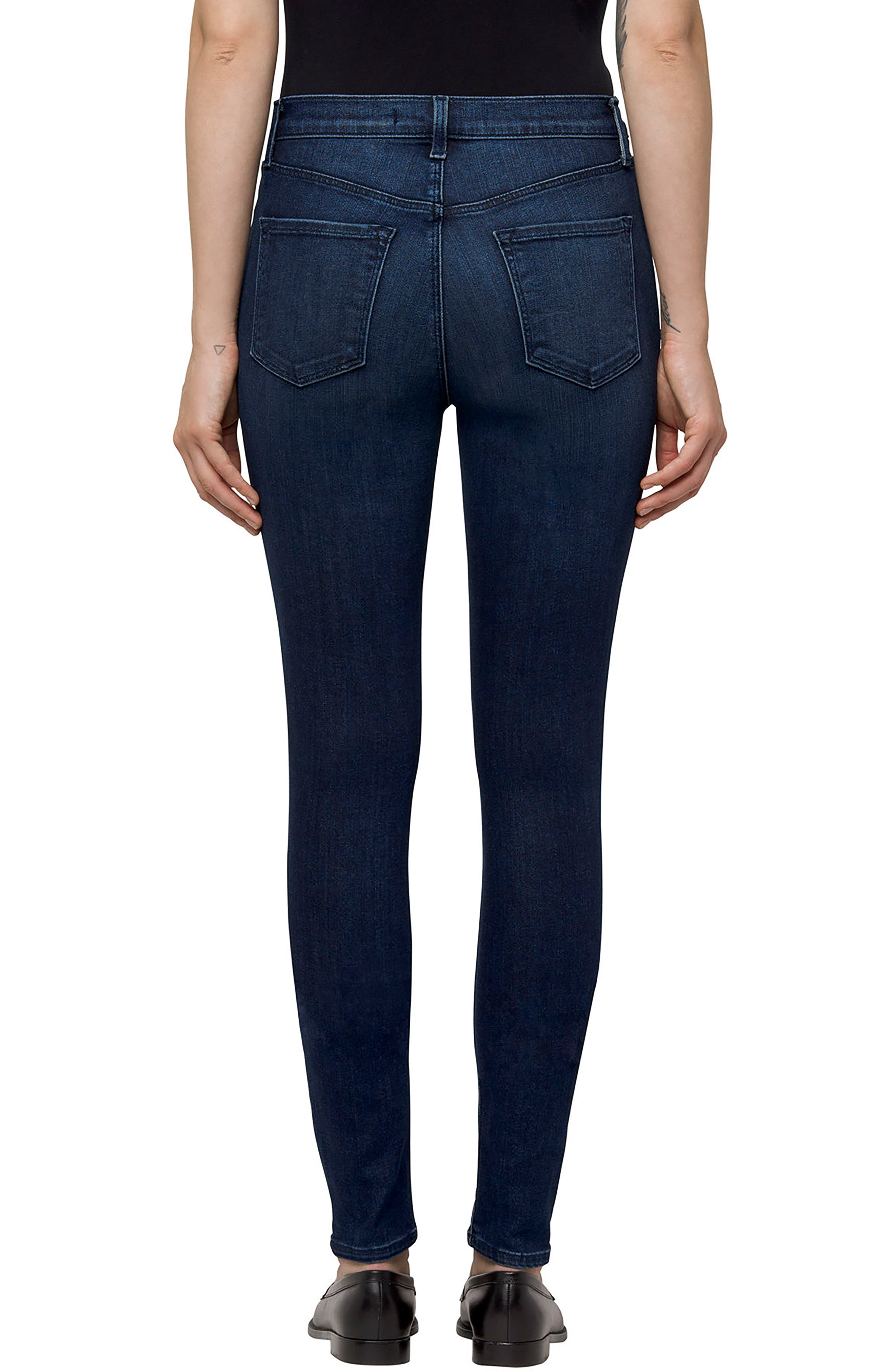 Maria High Waist Skinny Jeans,                             Alternate thumbnail 2, color,                             413
