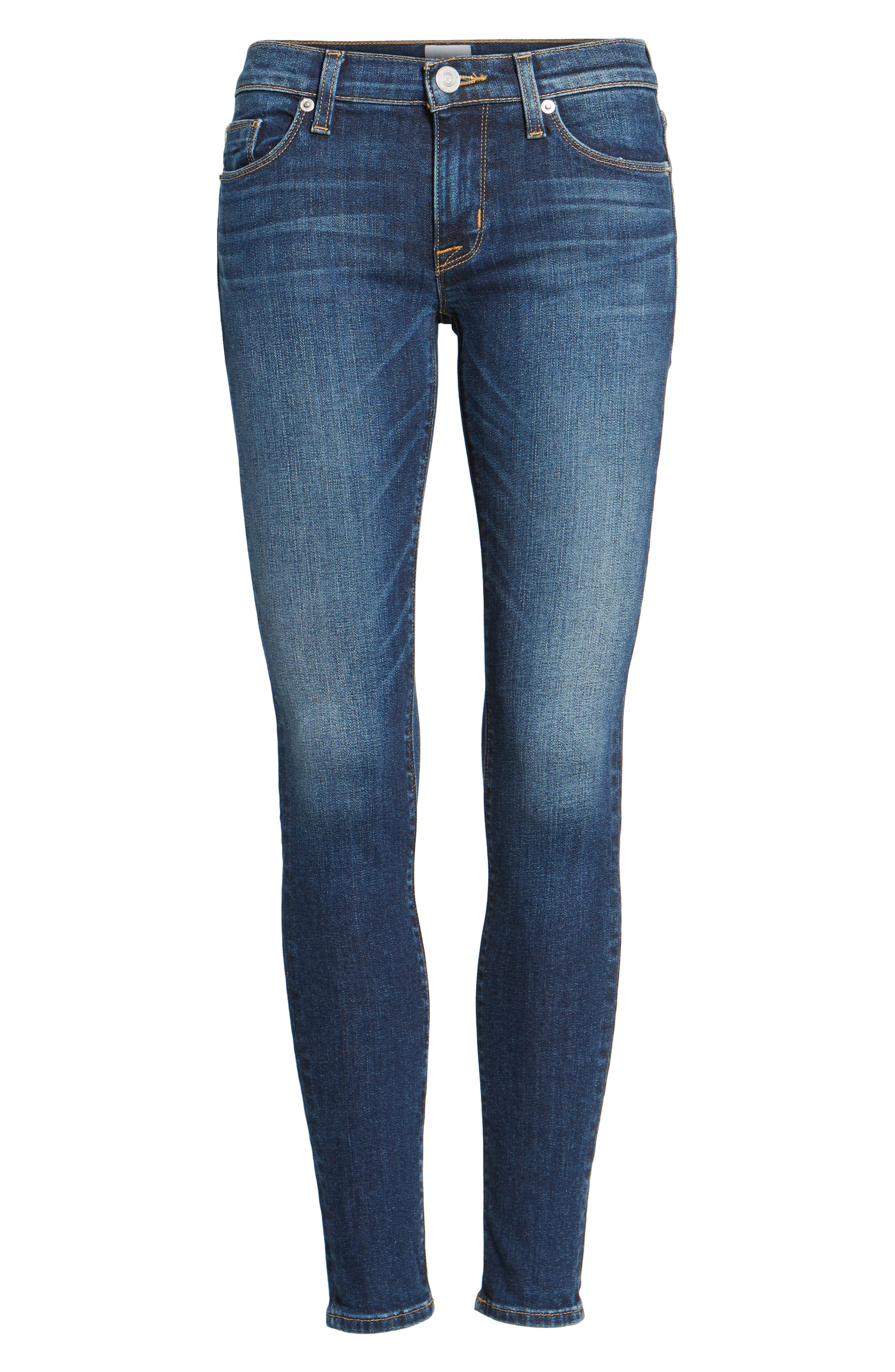 'Krista' Super Skinny Jeans,                             Alternate thumbnail 7, color,                             SOLO