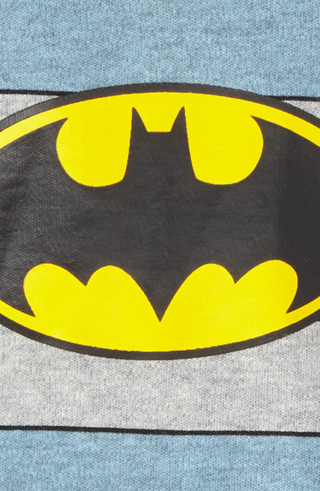 Batman Fitted Two-Piece Pajama Set,                             Alternate thumbnail 2, color,                             469