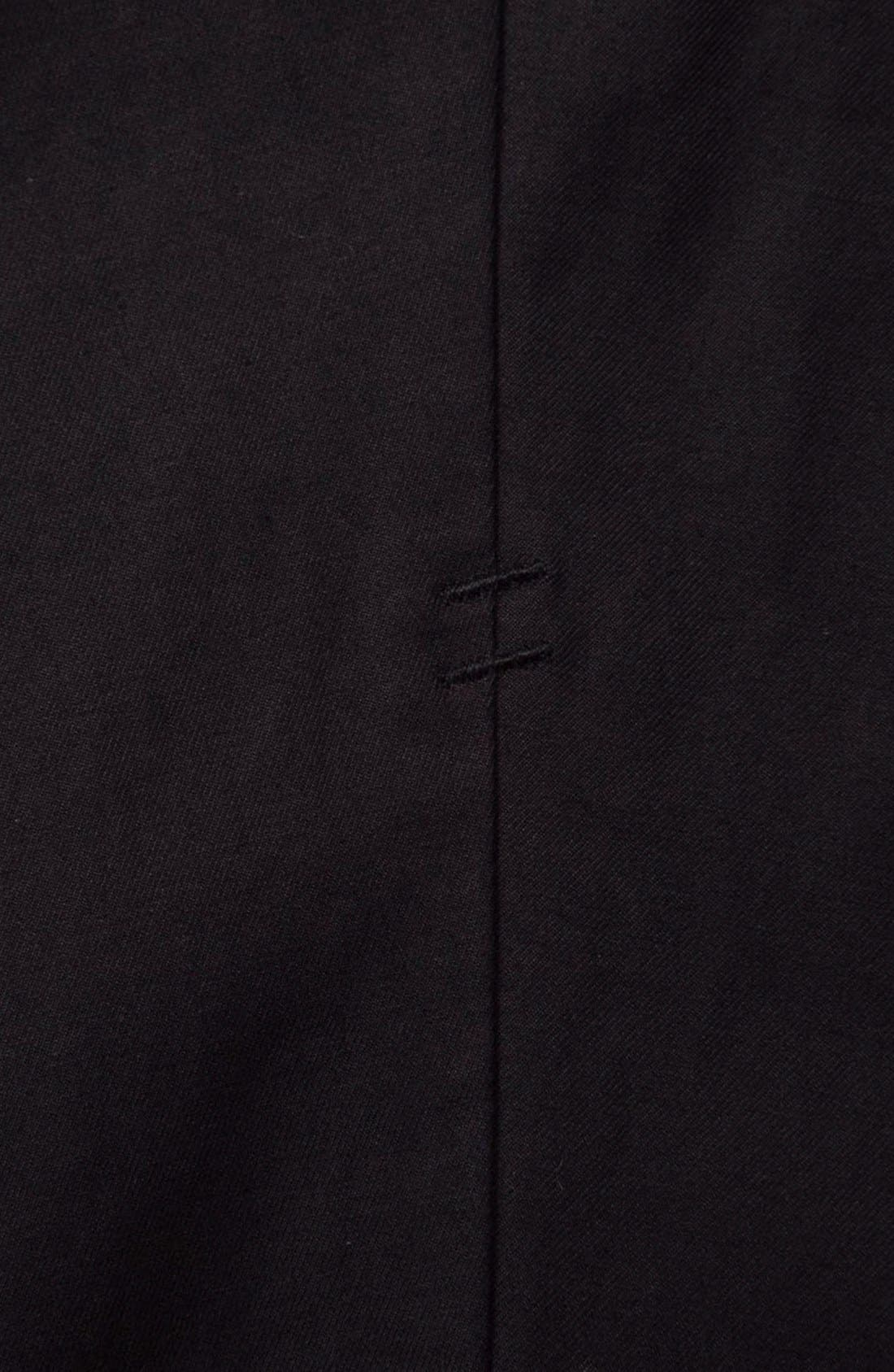 'Arroyo' Crop Stretch Chinos,                             Alternate thumbnail 5, color,                             001
