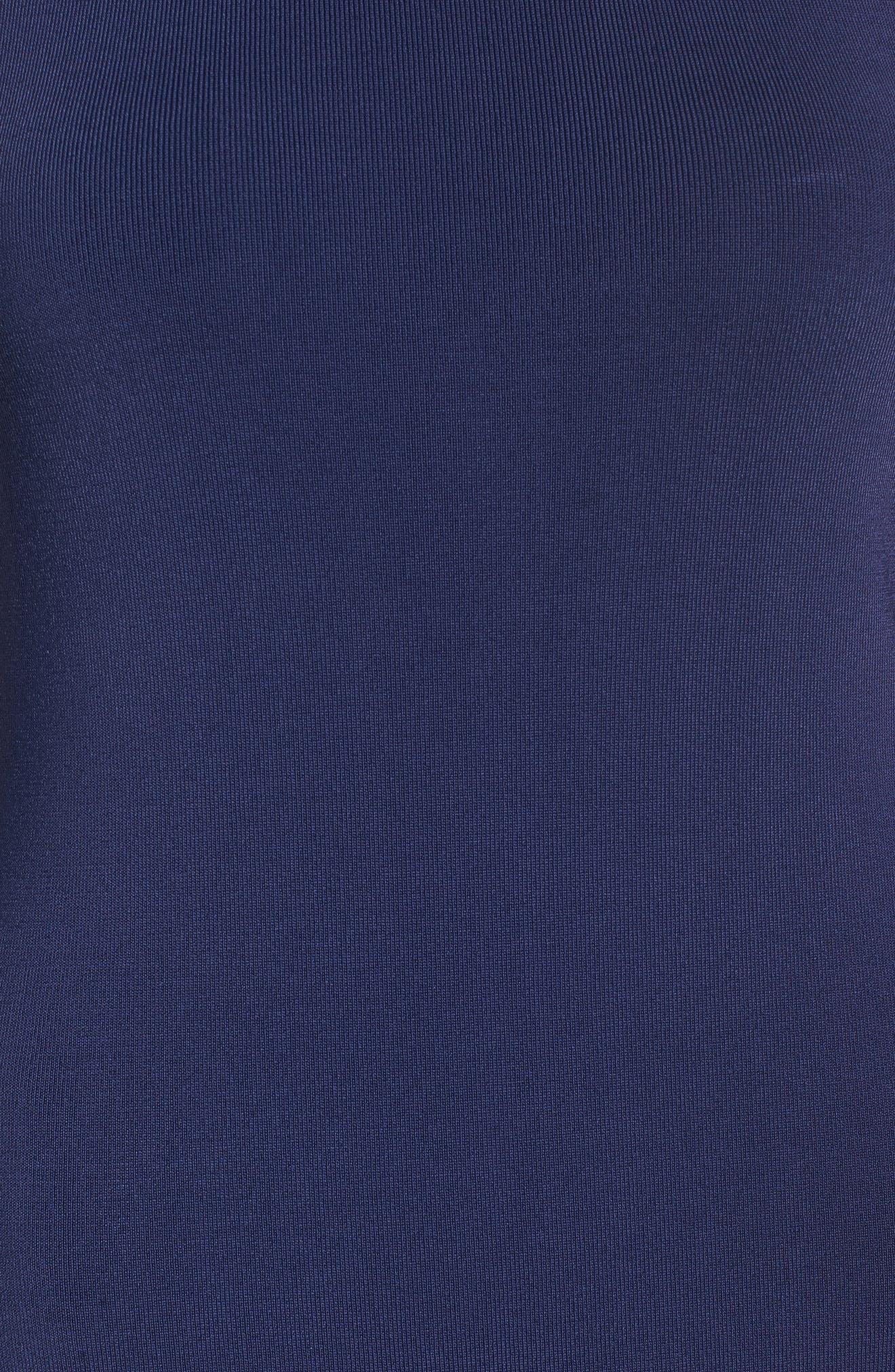 Sleeveless Mock Neck Knit Dress,                             Alternate thumbnail 33, color,