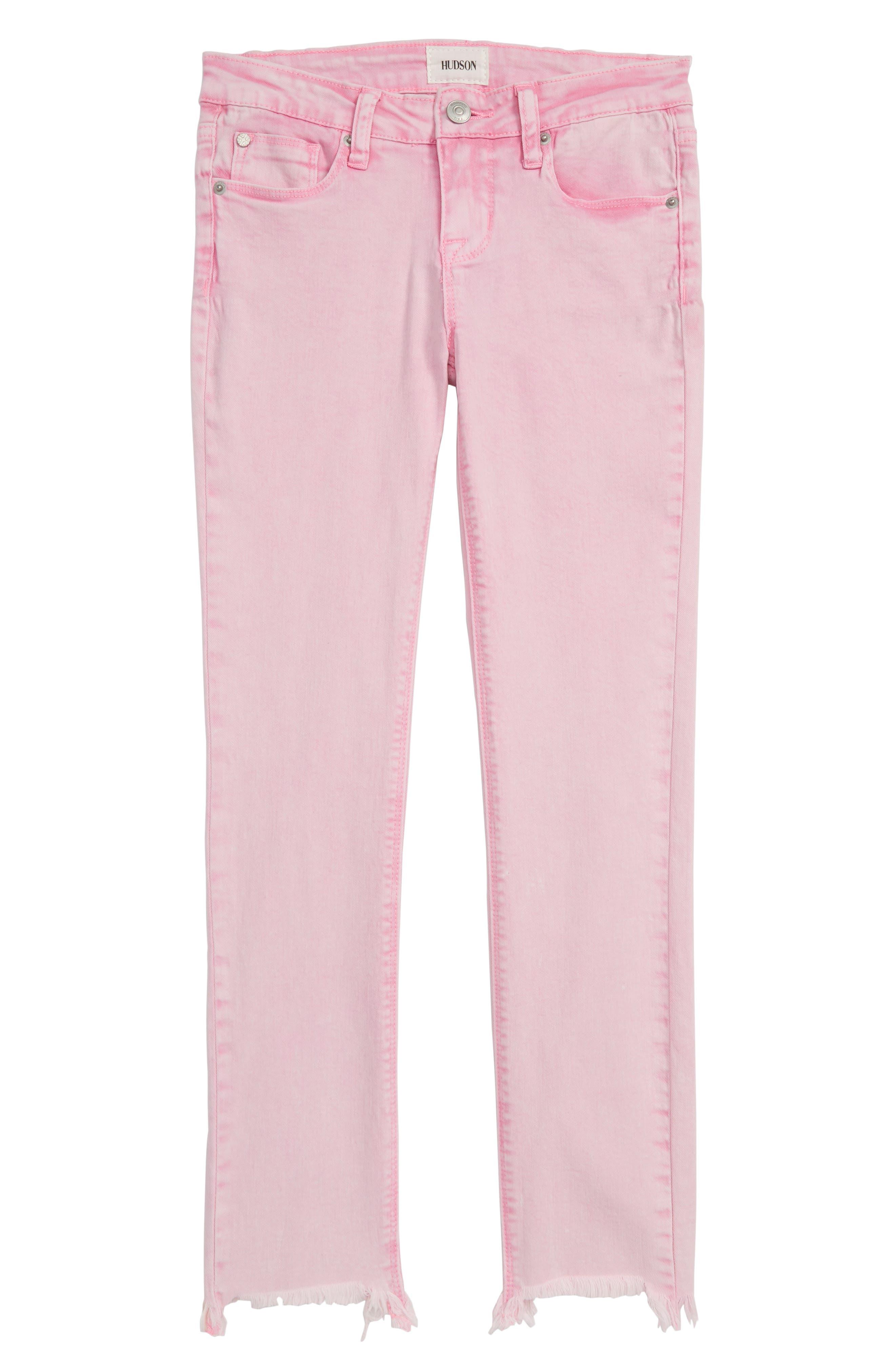 Wren Skinny Jeans,                             Main thumbnail 1, color,                             WATERMELON
