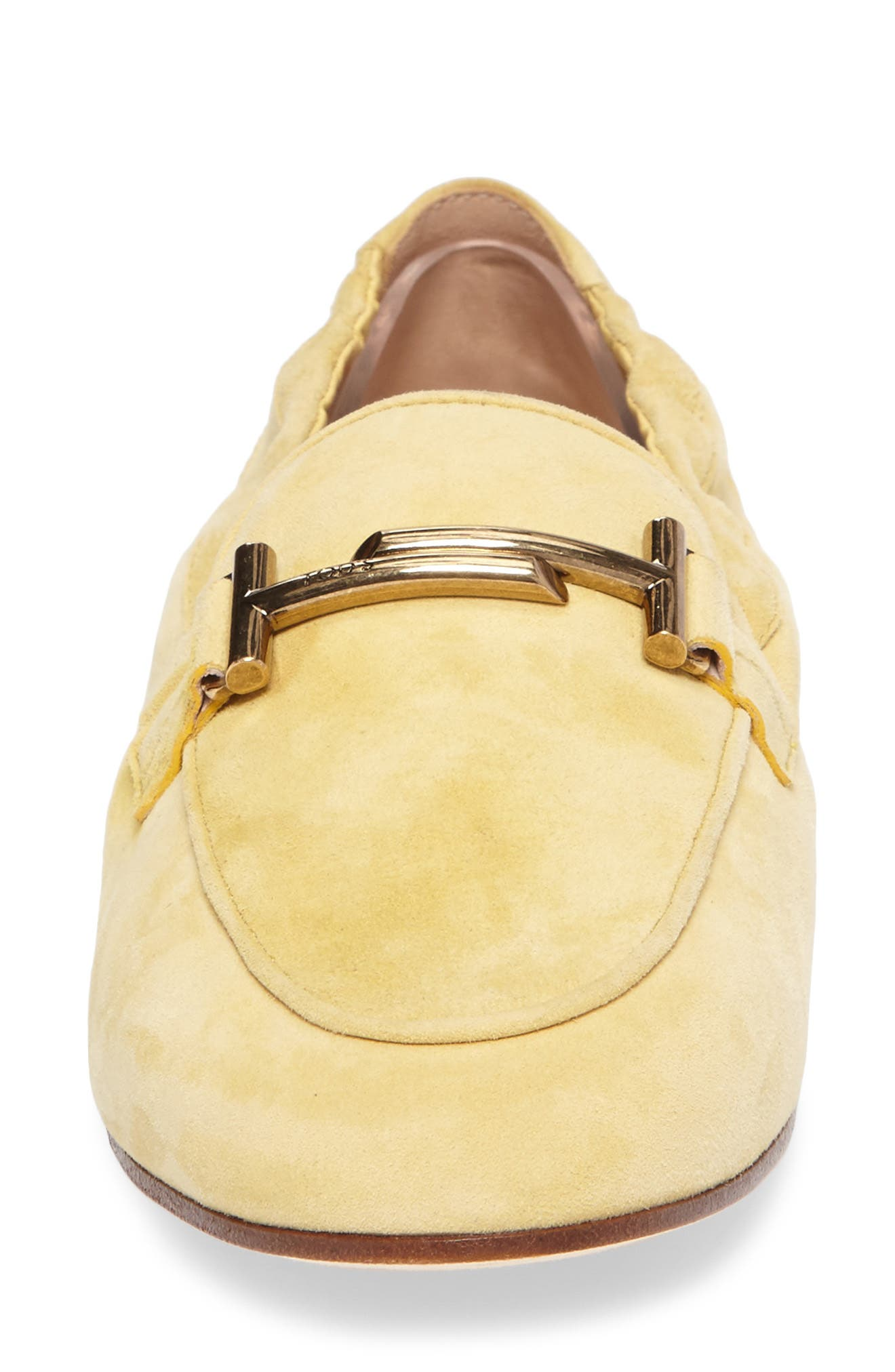 Double T Scrunch Loafer,                             Alternate thumbnail 16, color,