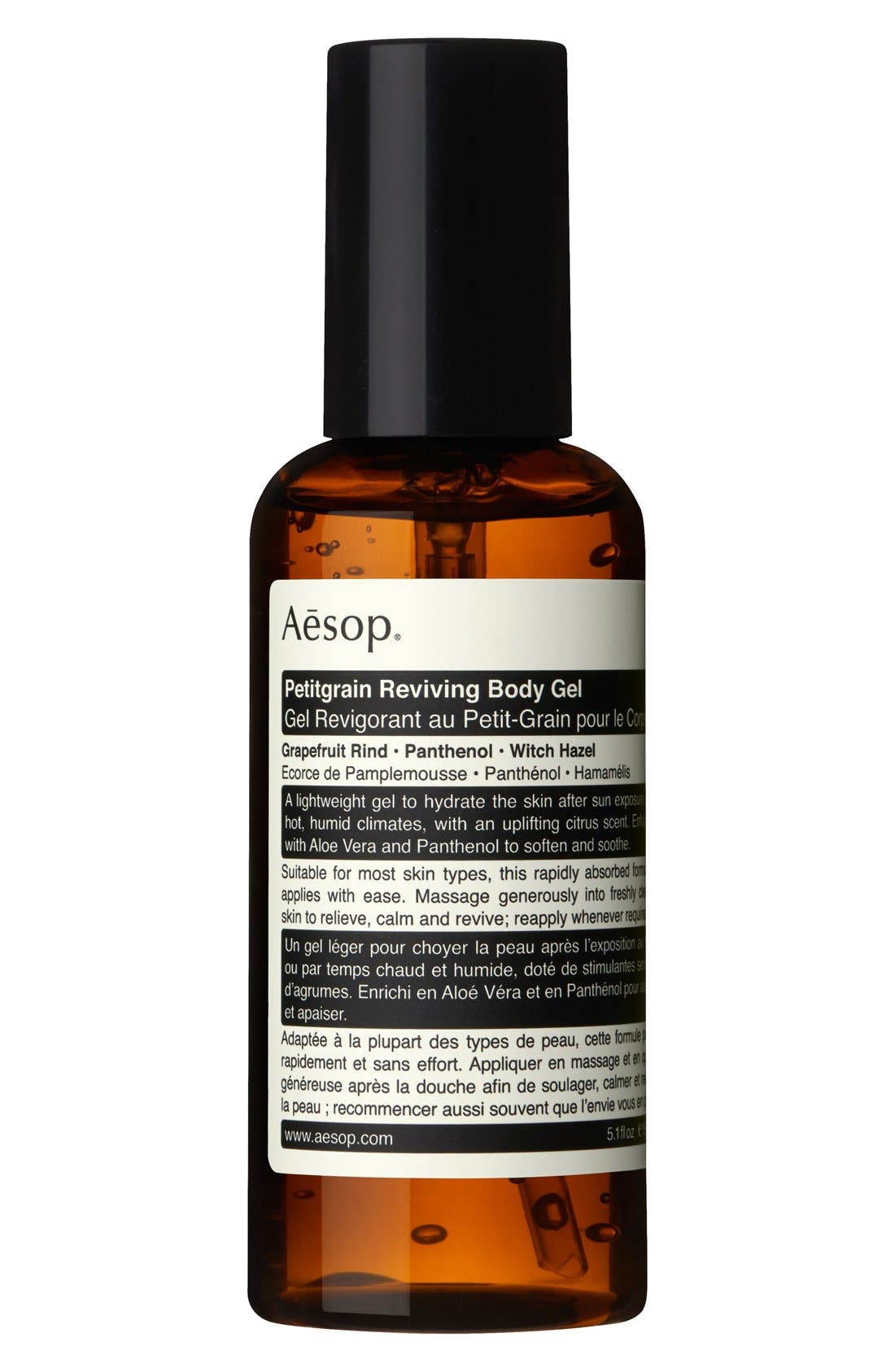 Petitgrain Reviving Body Gel,                             Main thumbnail 1, color,                             NO COLOR