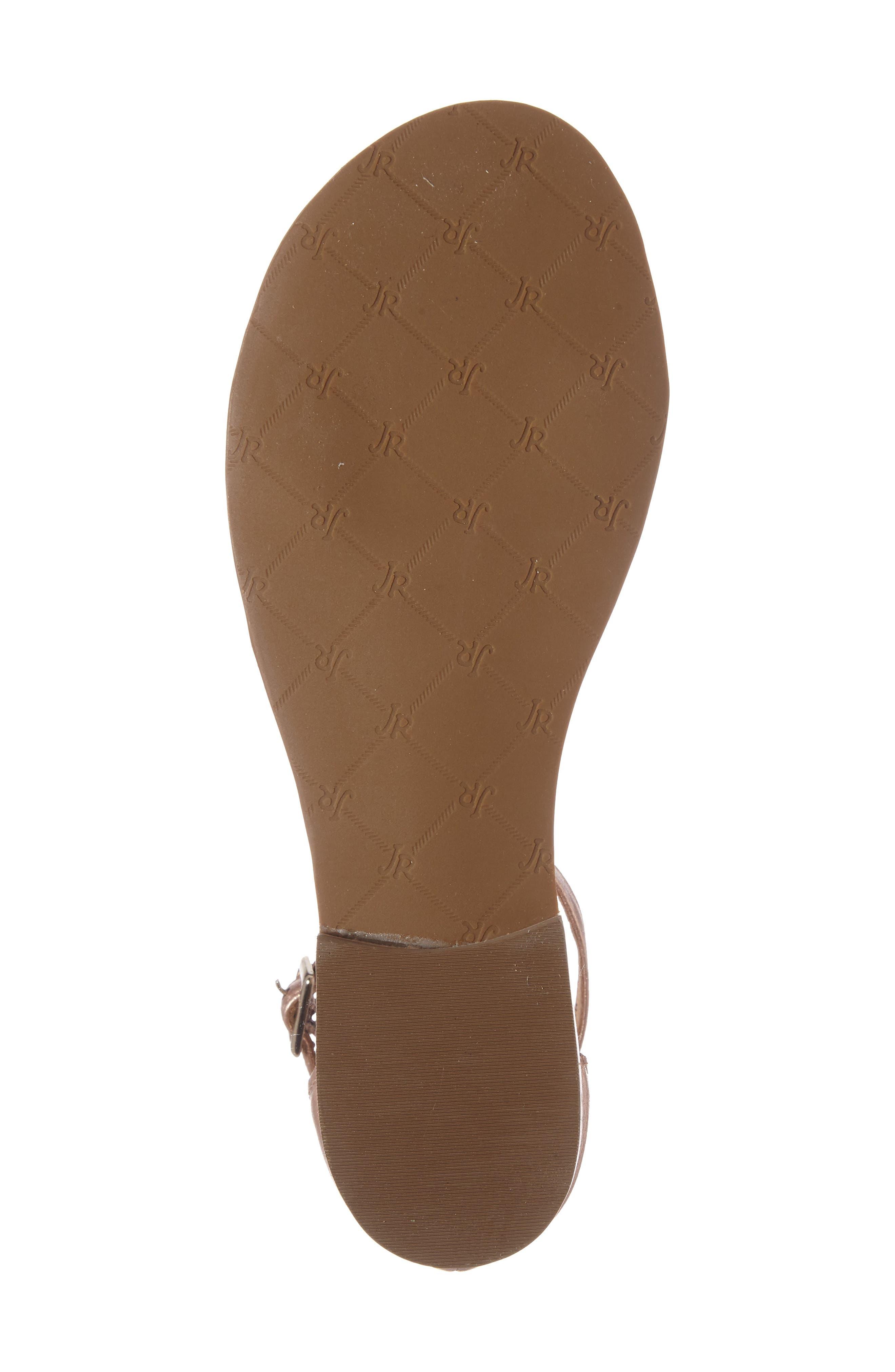 Daphne Medallion Flat Sandal,                             Alternate thumbnail 16, color,