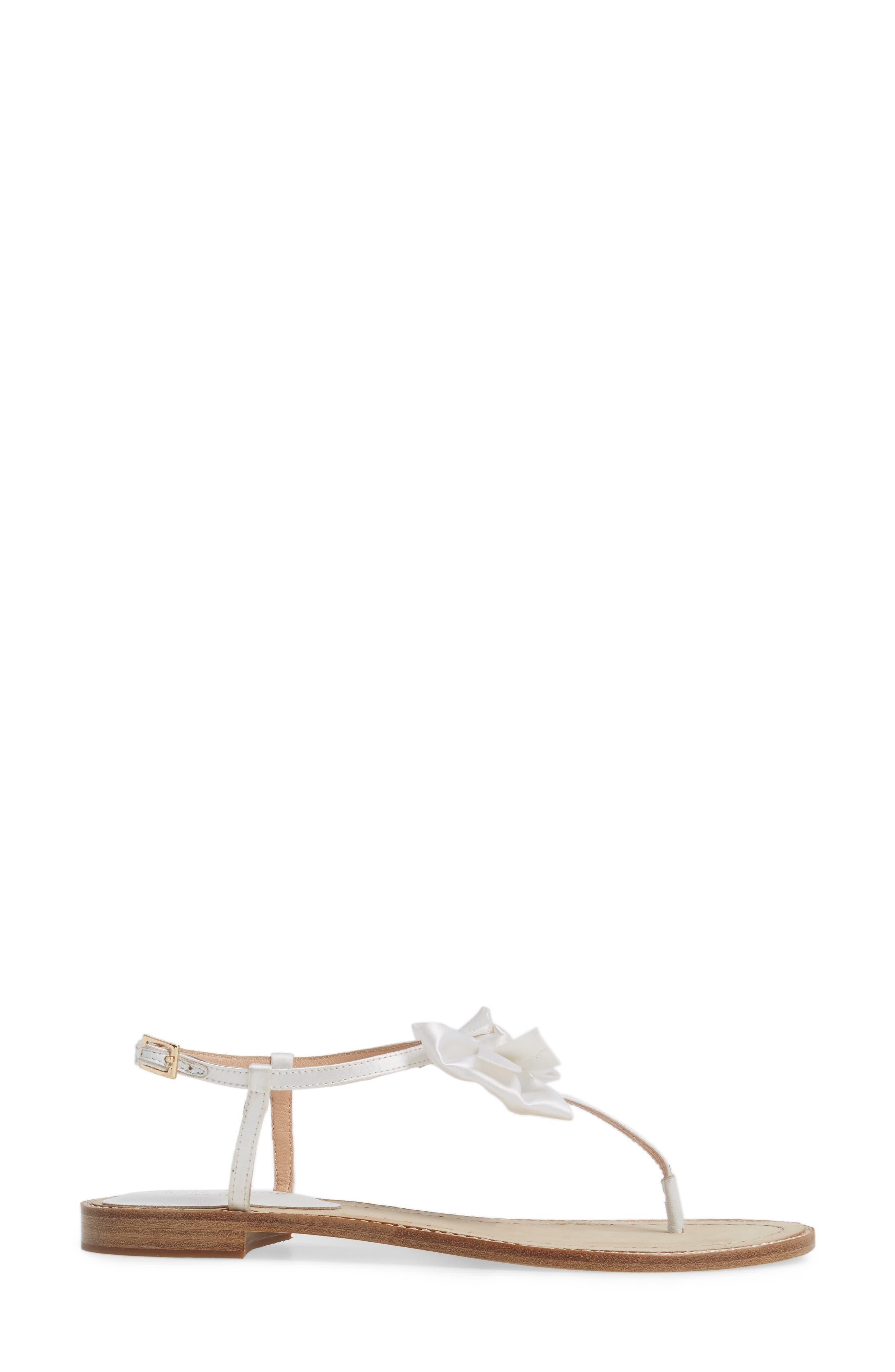 serrano bow sandal,                             Alternate thumbnail 12, color,