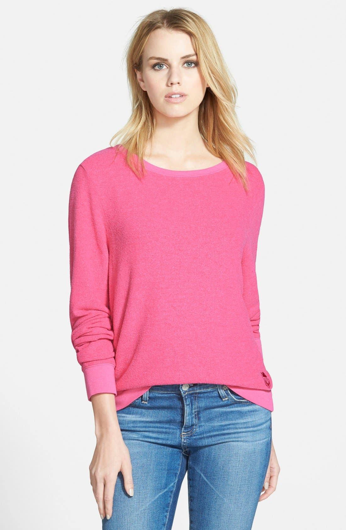 'Baggy Beach Jumper' Pullover,                             Main thumbnail 40, color,