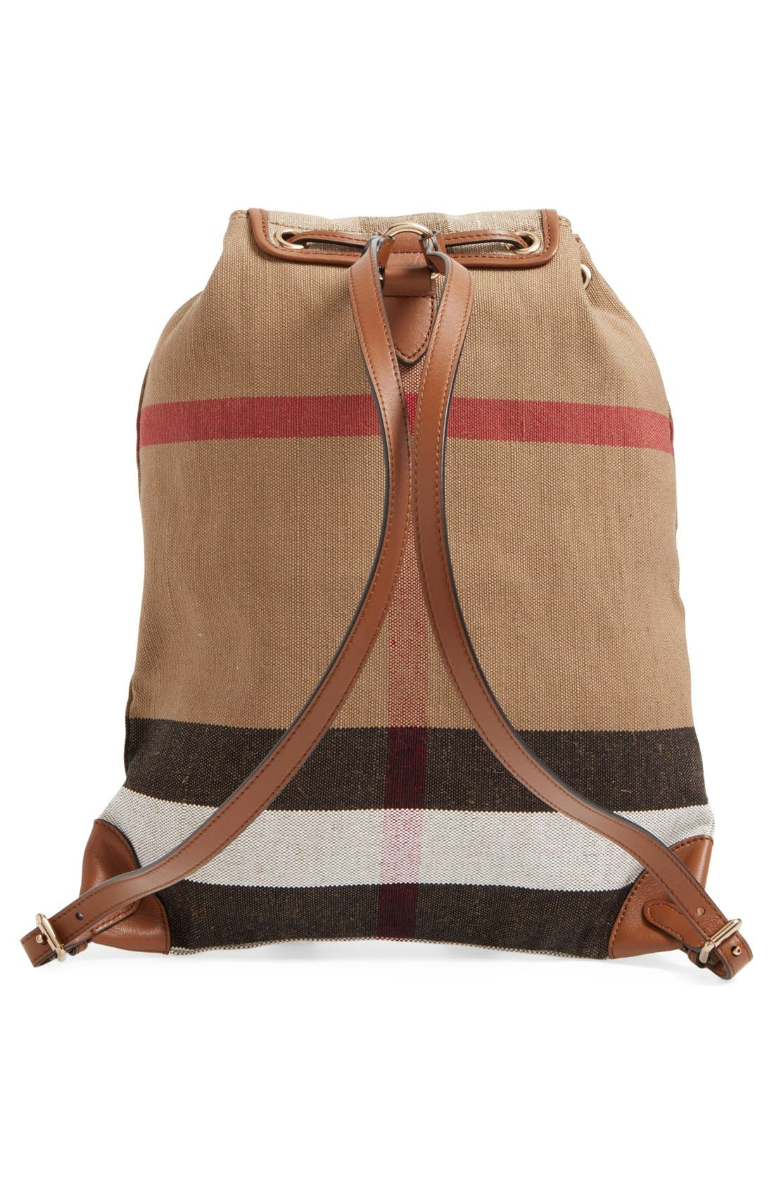 'Chiltern' Check Print Backpack,                             Alternate thumbnail 5, color,                             200