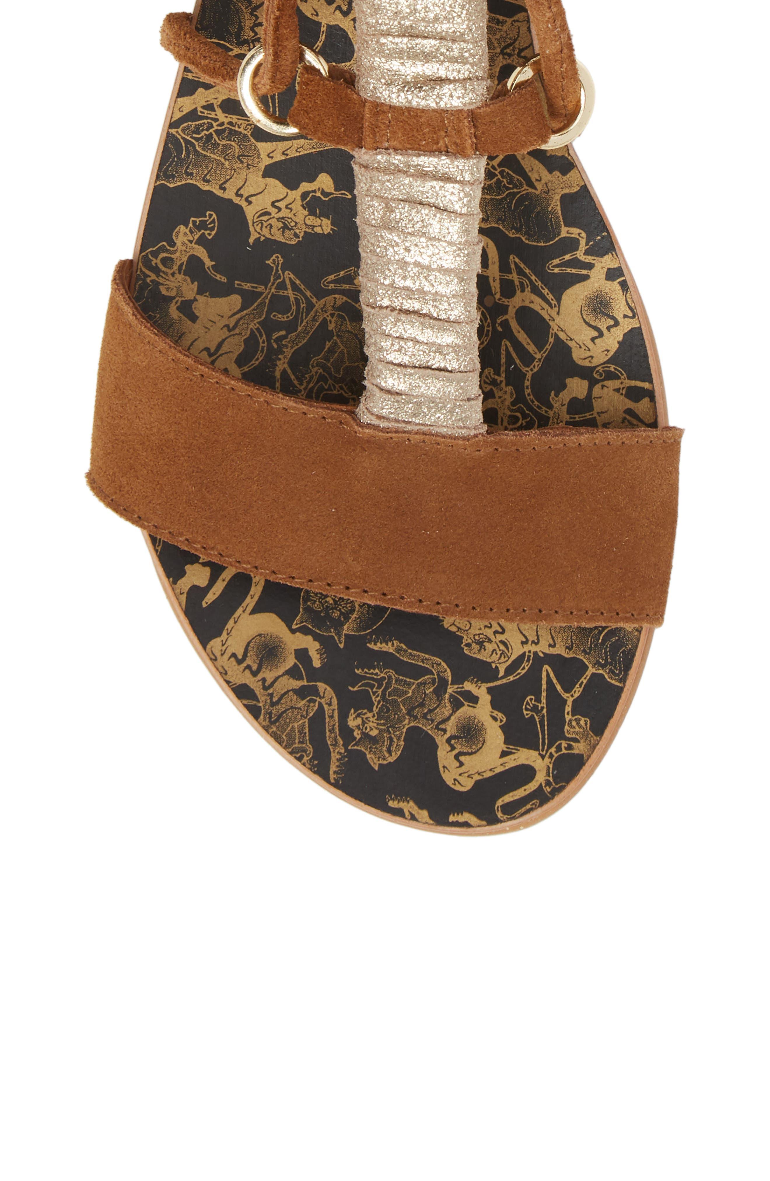 Fiji Wraparound Sandal,                             Alternate thumbnail 5, color,                             230