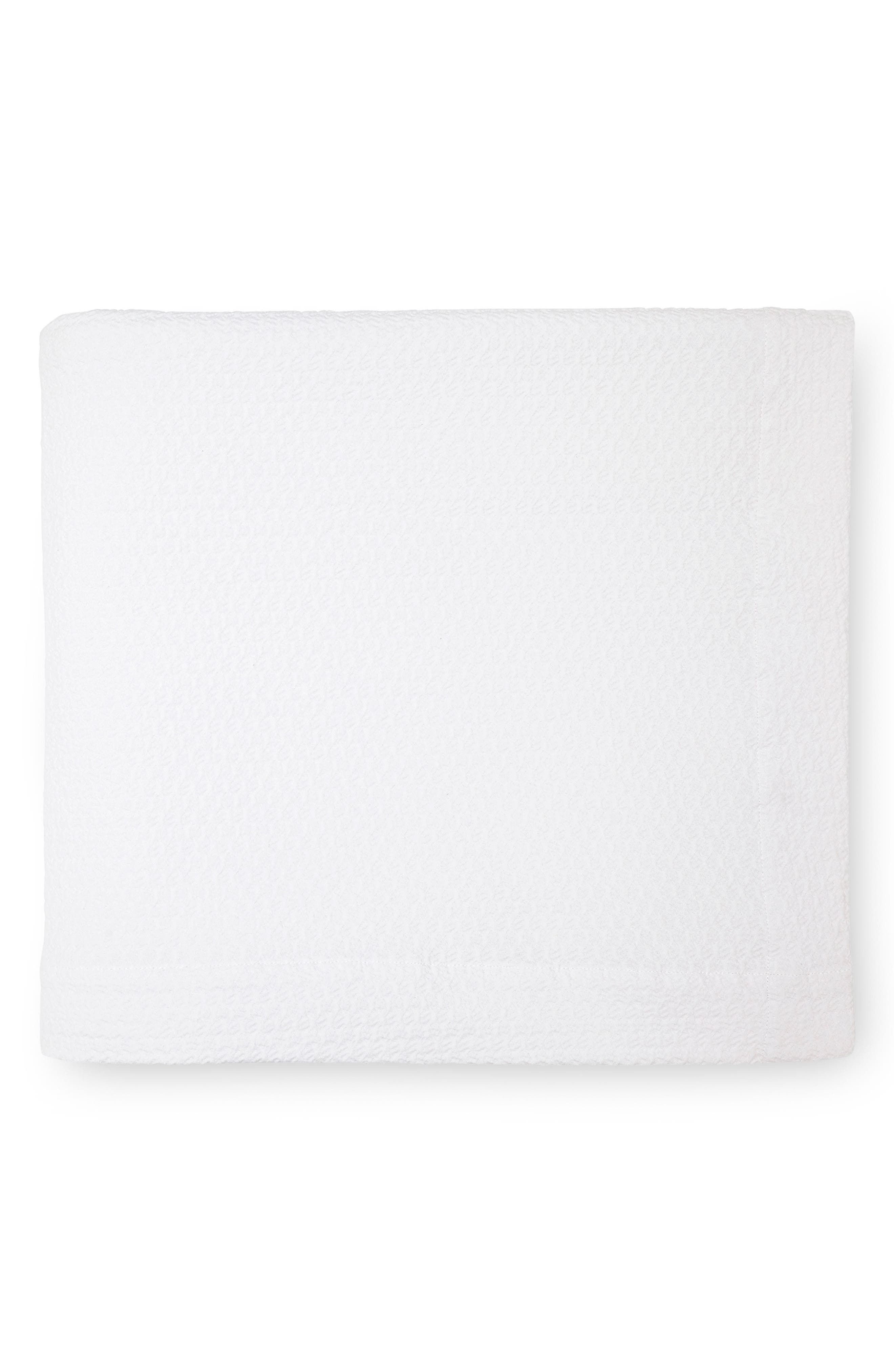 Merisso Blanket,                             Main thumbnail 1, color,                             WHITE