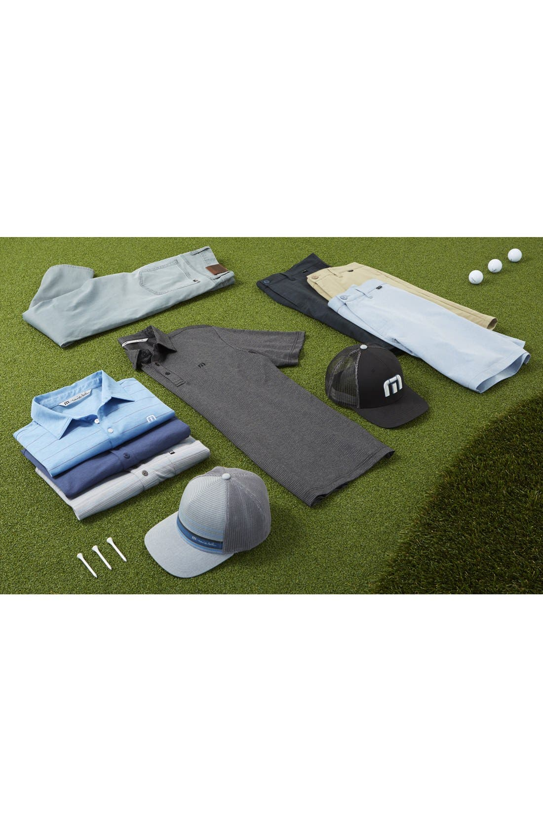 'Hefner' Stretch Golf Shorts,                             Alternate thumbnail 4, color,                             BLACK