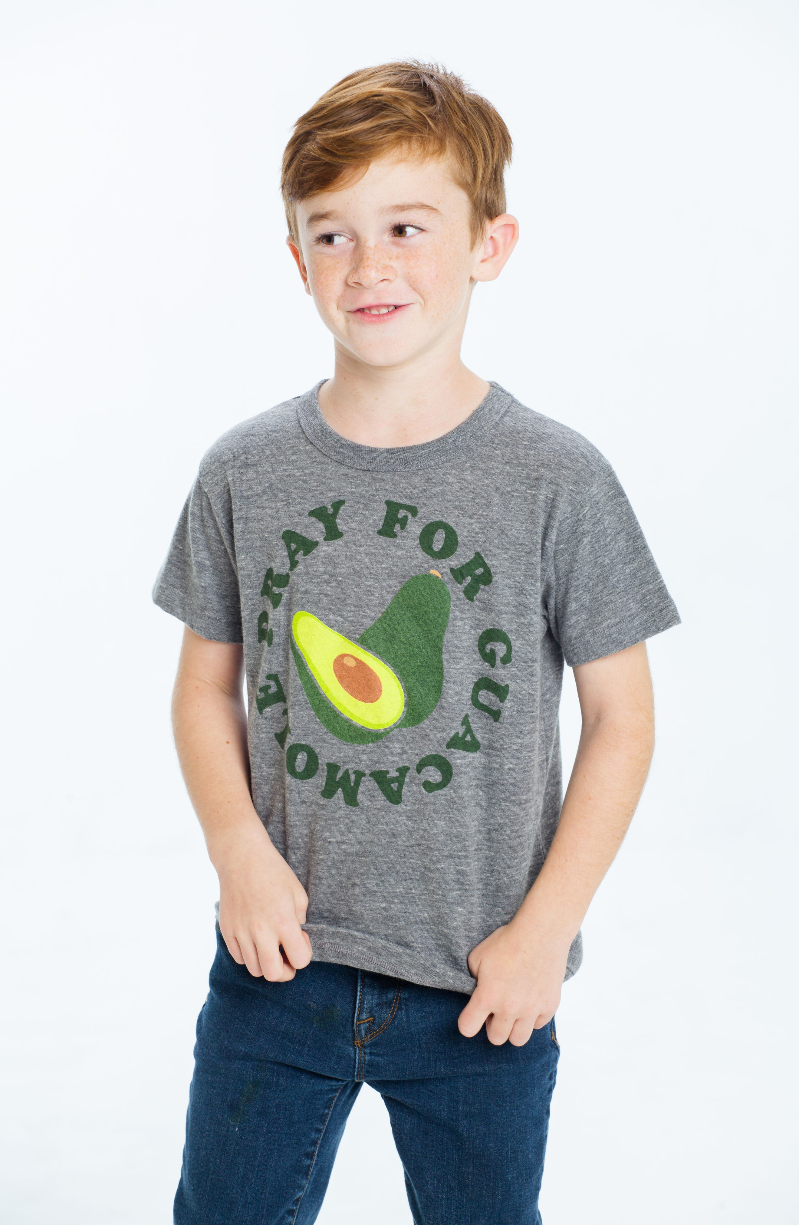 Pray for Guacamole T-Shirt,                             Alternate thumbnail 3, color,