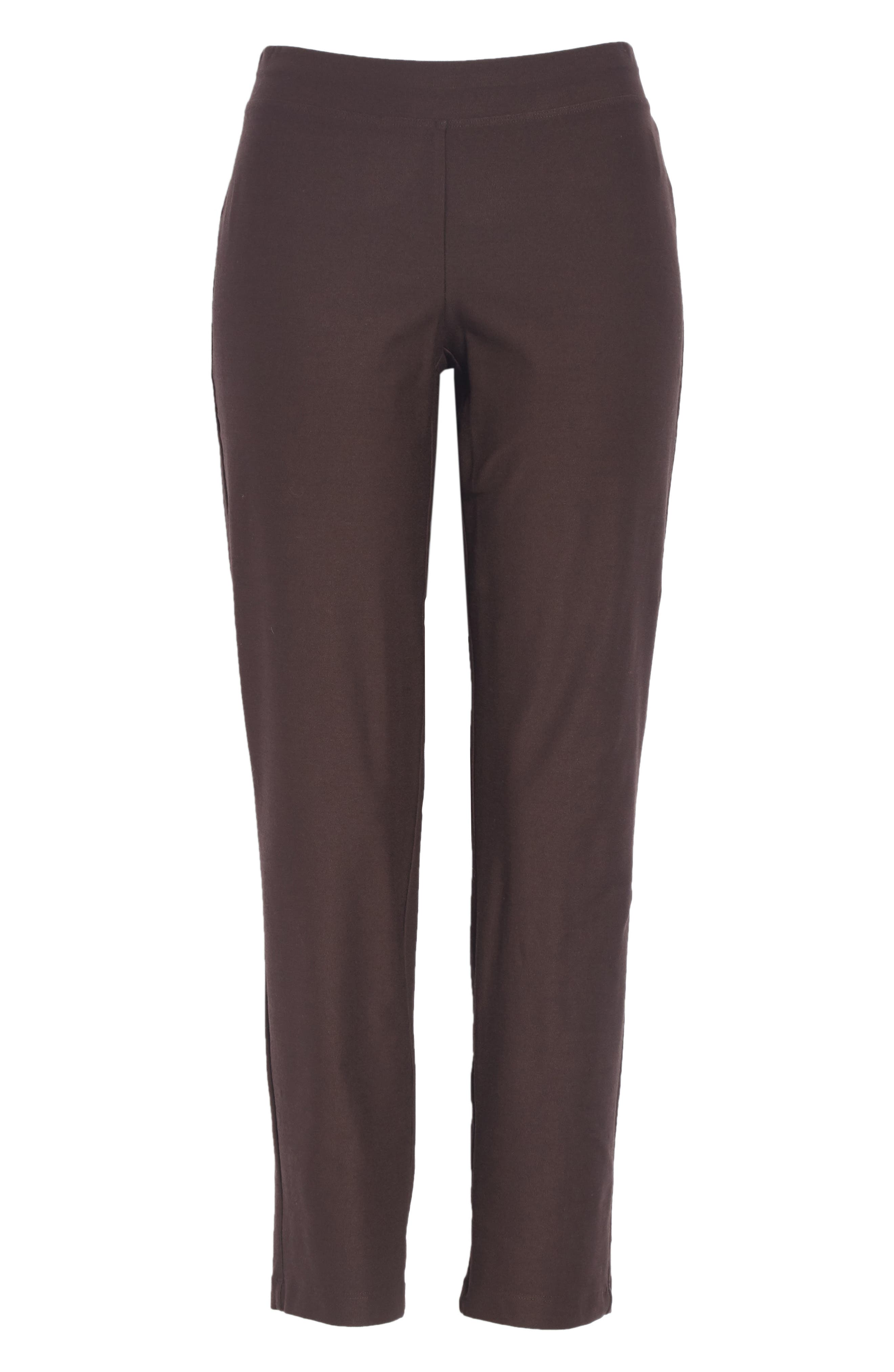 Stretch Crepe Slim Ankle Pants,                             Alternate thumbnail 116, color,