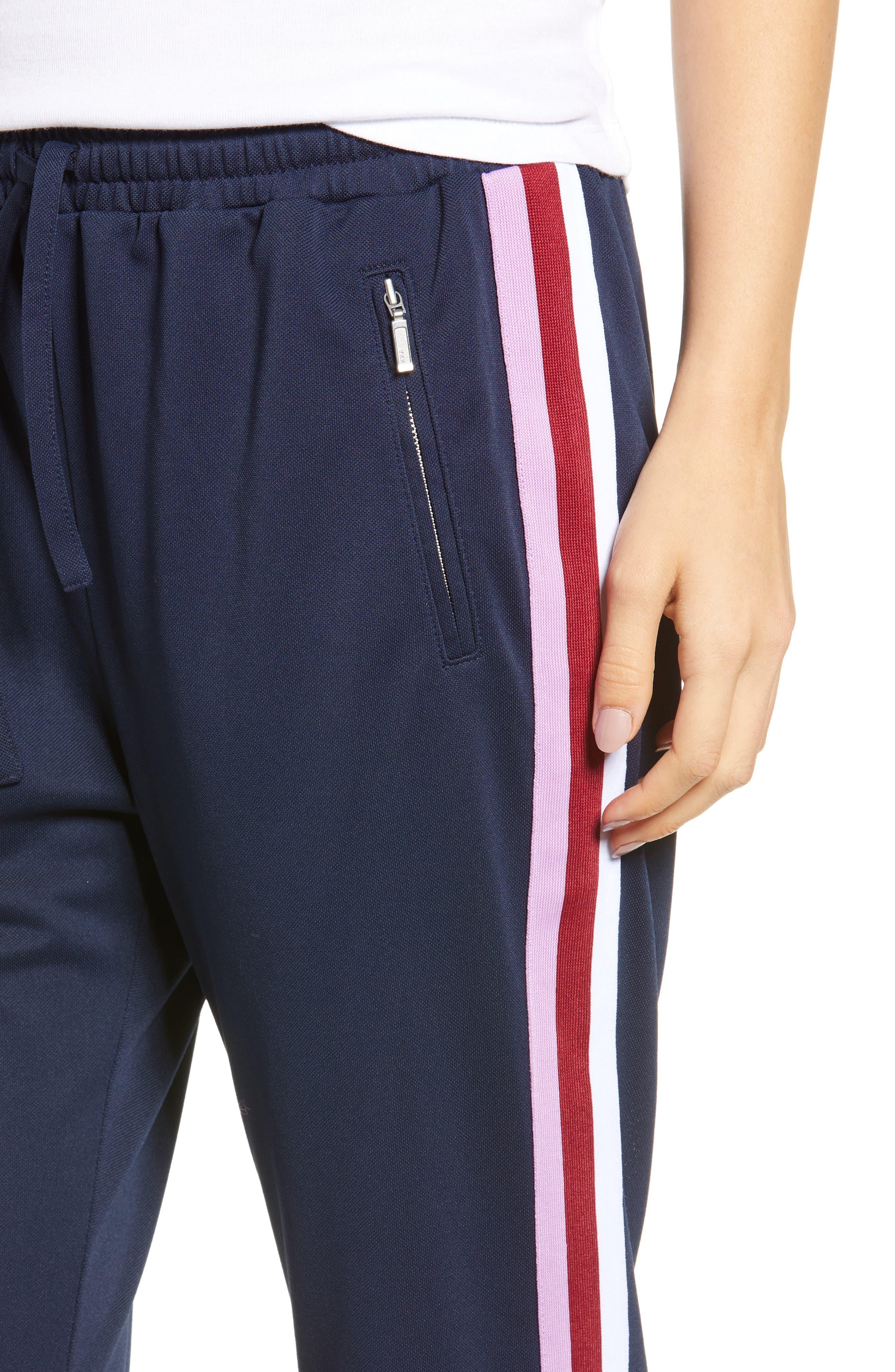 Jolie Crop Pants,                             Alternate thumbnail 4, color,                             410