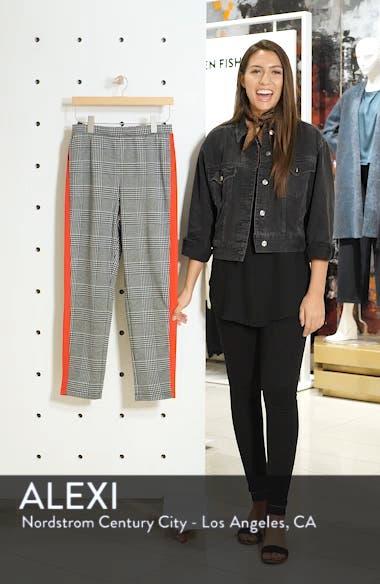 Side Stripe Glen Plaid Pants, sales video thumbnail