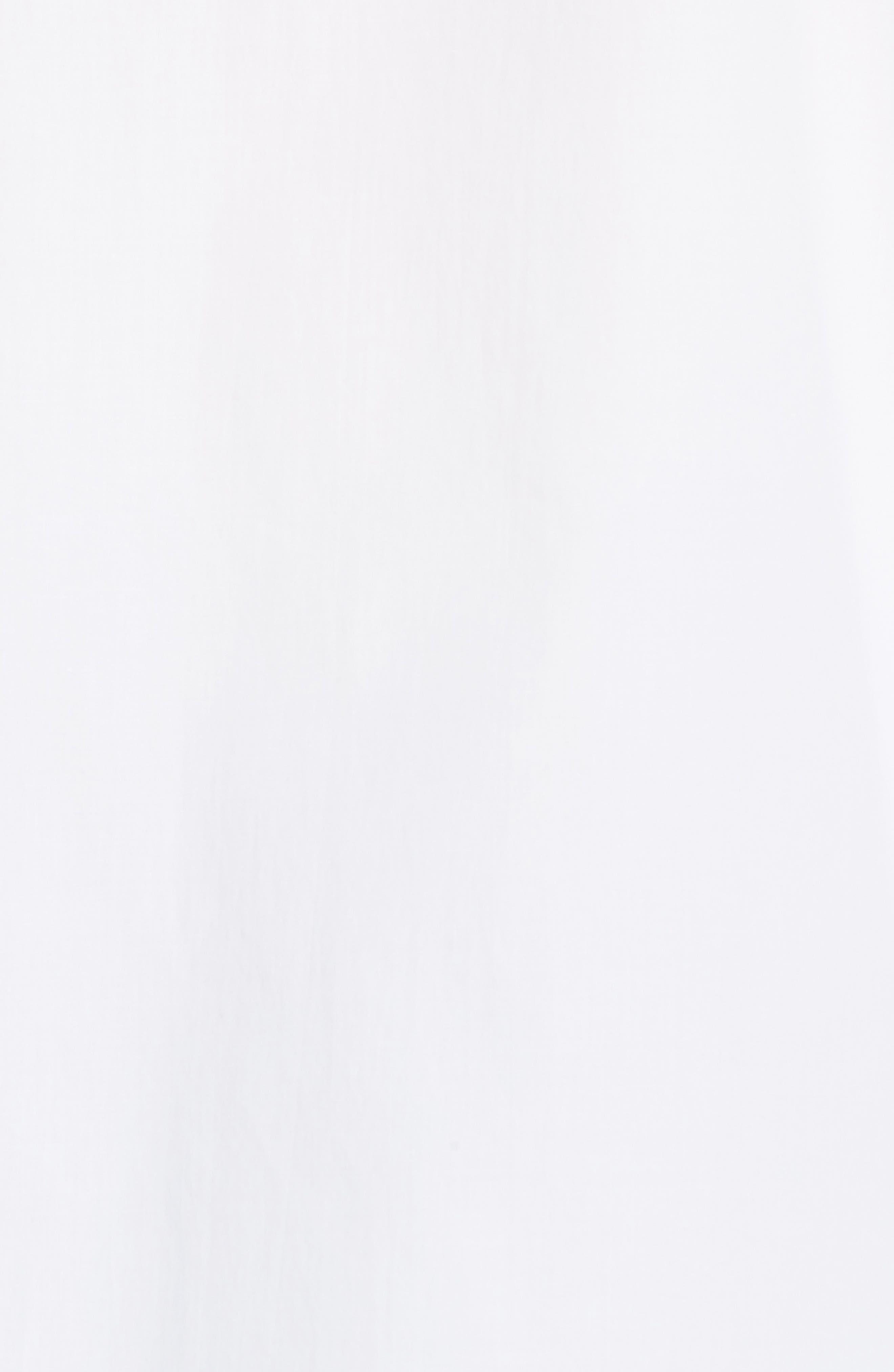 Draped Cotton Poplin Shirt,                             Alternate thumbnail 5, color,                             100
