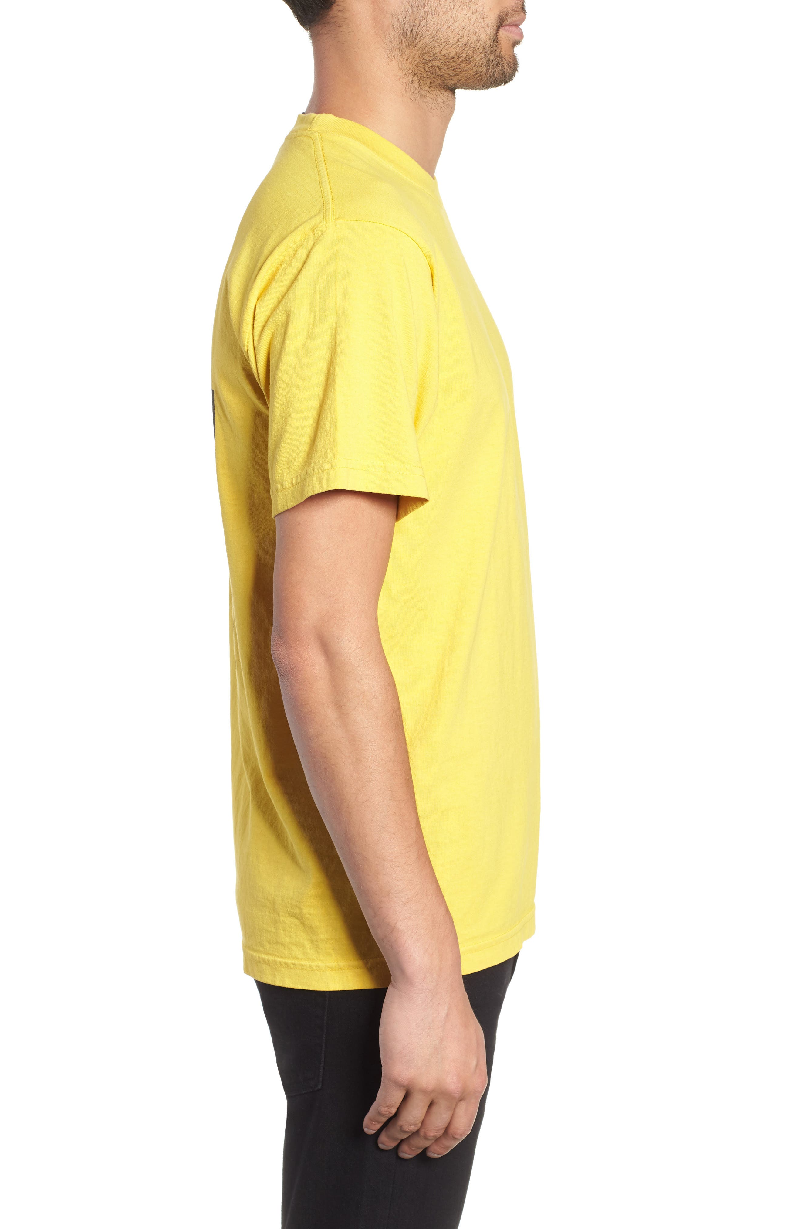 No One Box T-Shirt,                             Alternate thumbnail 3, color,                             SPECTRA YELLOW