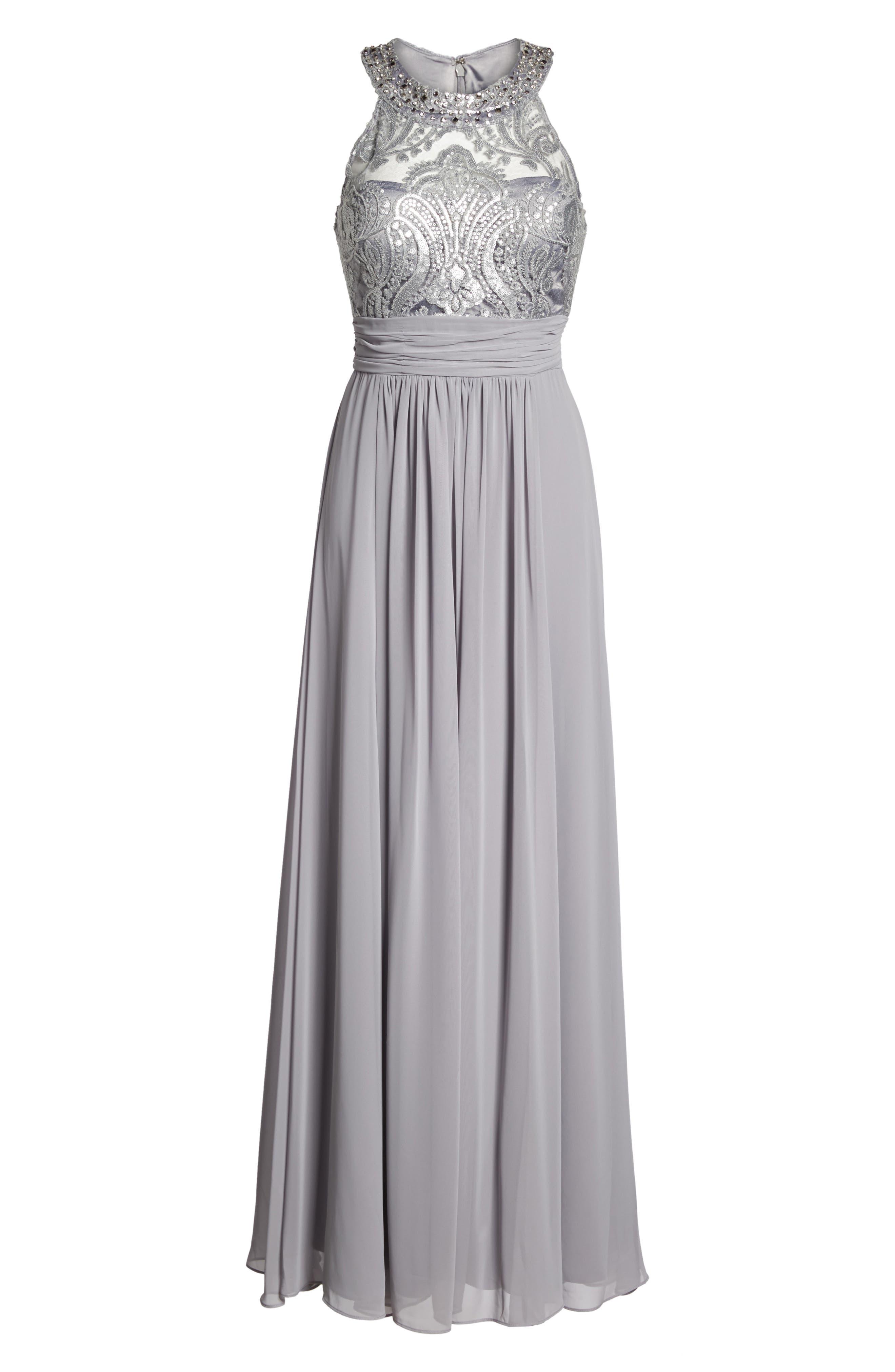 Lace Bodice Gown,                             Alternate thumbnail 22, color,