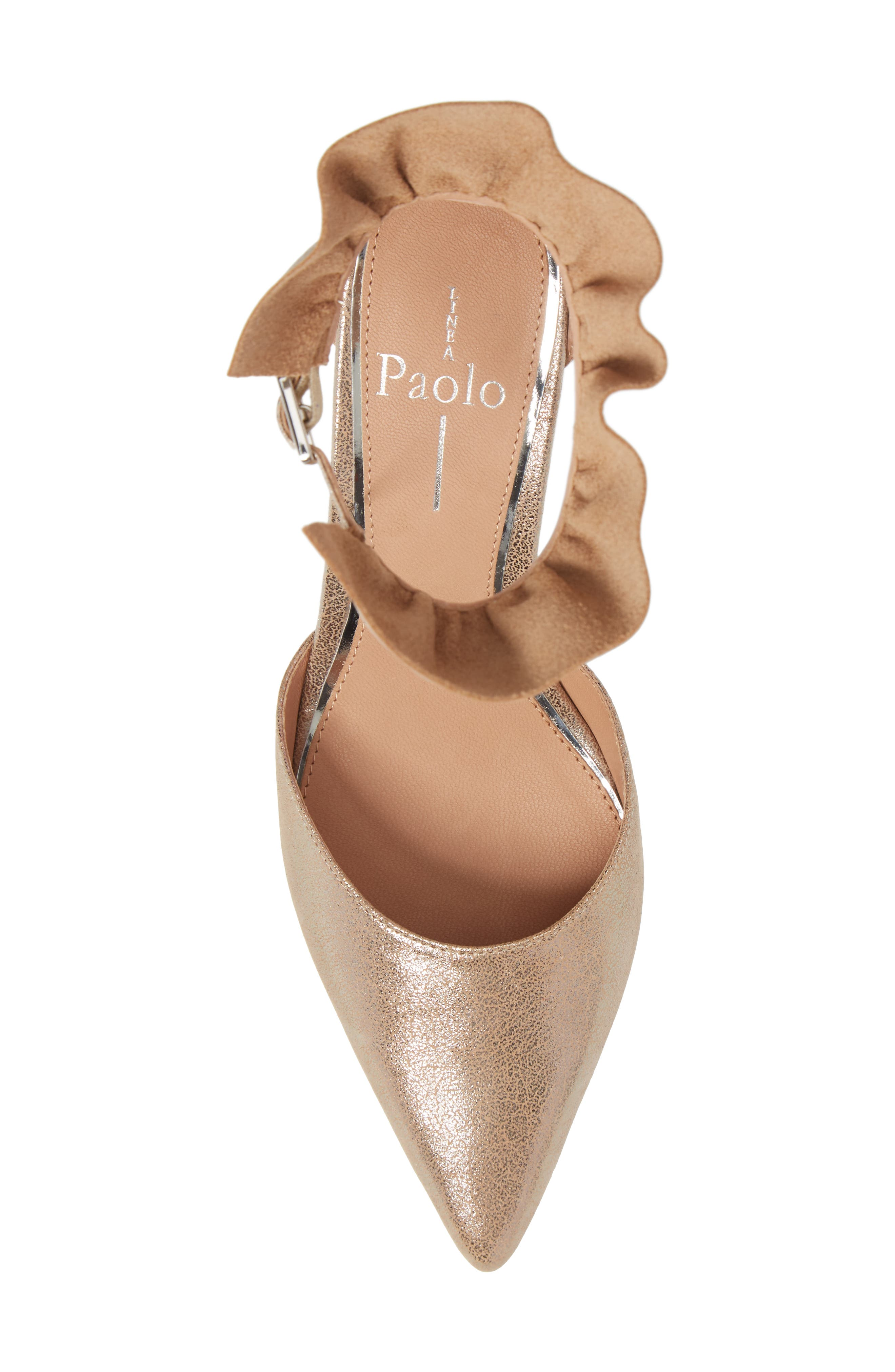 Pammy Ruffled Pointy Toe Pump,                             Alternate thumbnail 25, color,