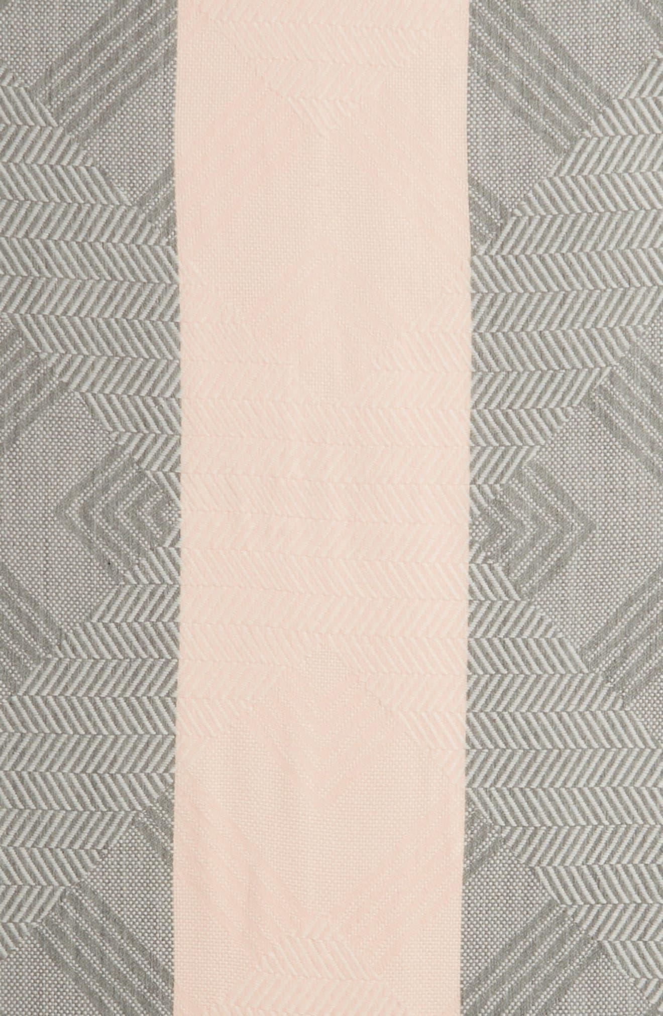 Chevron Yarn Dye Oblong Scarf,                             Alternate thumbnail 4, color,                             650