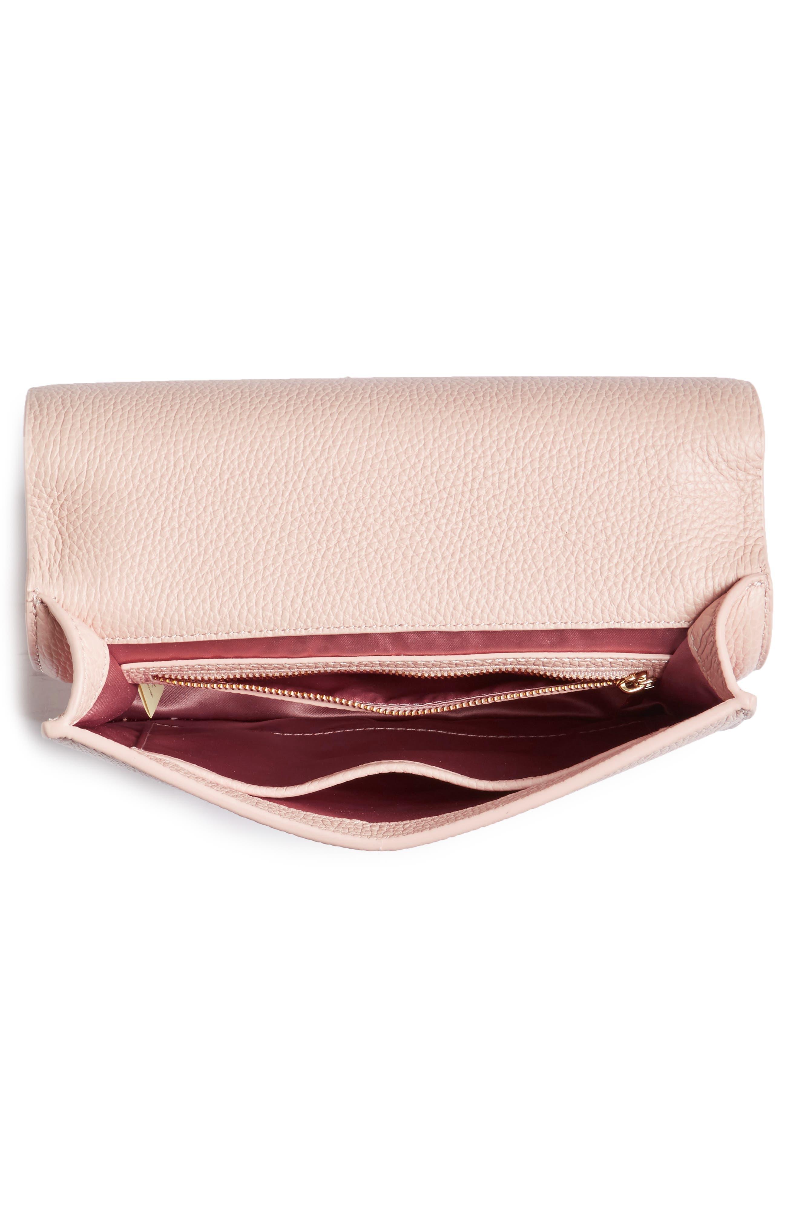 madison knollwood drive - buckle marci leather shoulder bag,                             Alternate thumbnail 8, color,