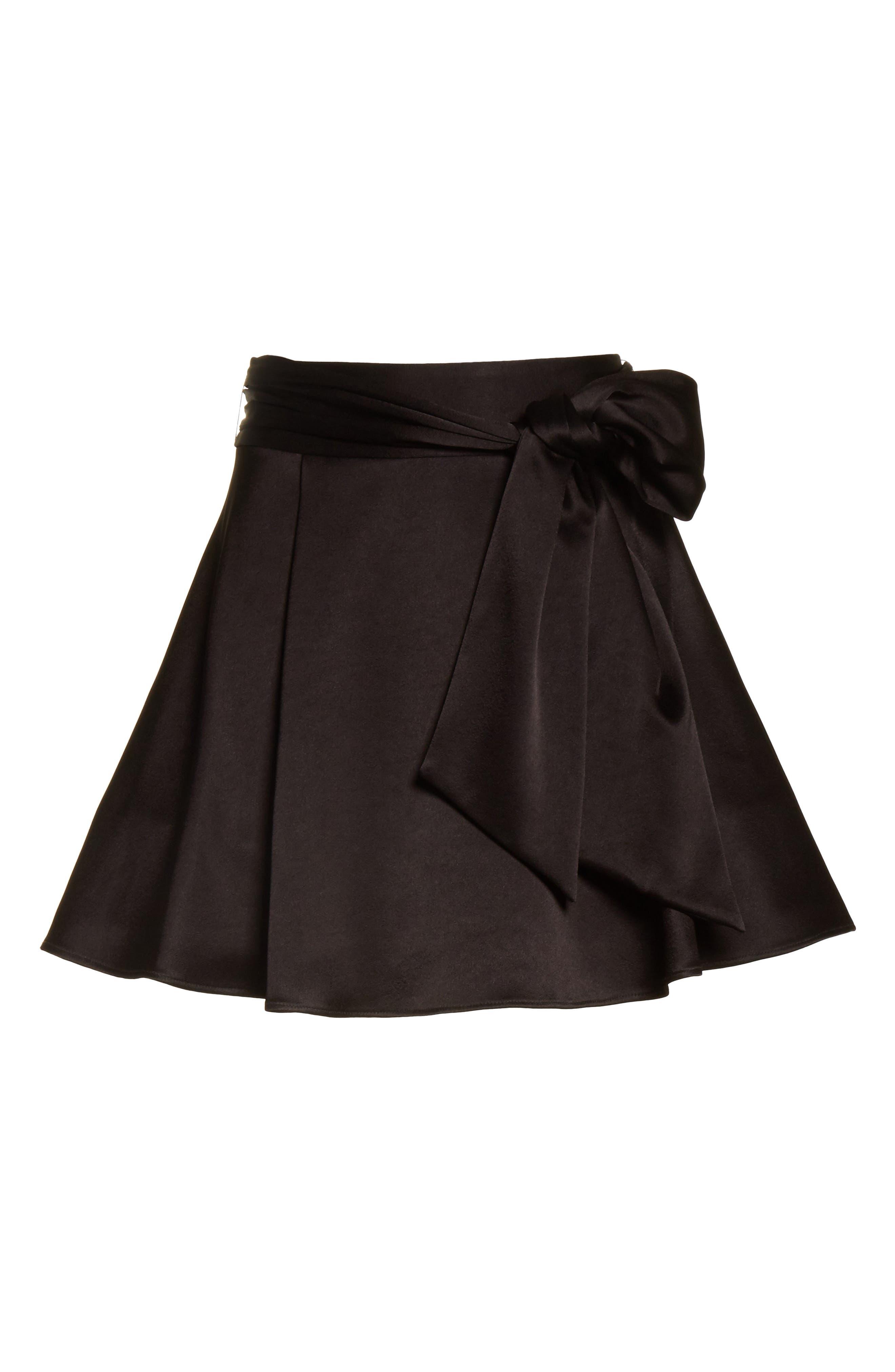 Helina Miniskirt,                             Alternate thumbnail 6, color,                             001