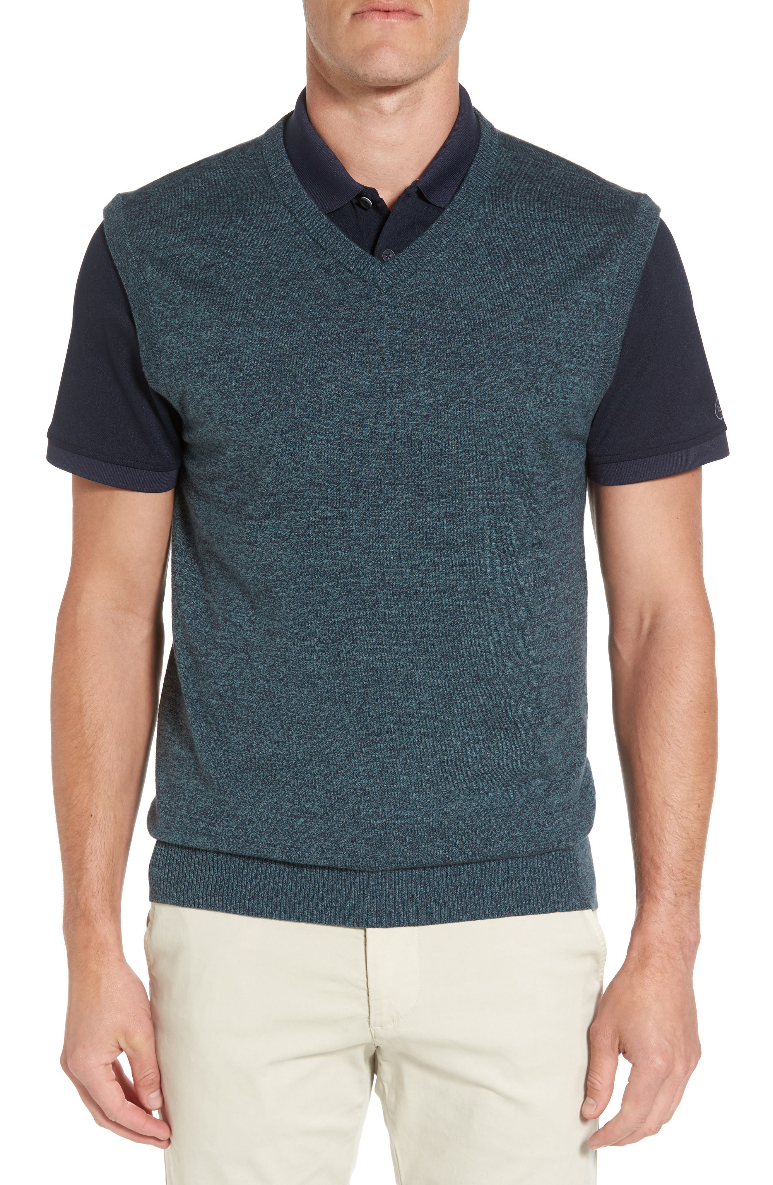 Valley V-Neck Sweater Vest,                             Main thumbnail 1, color,                             333