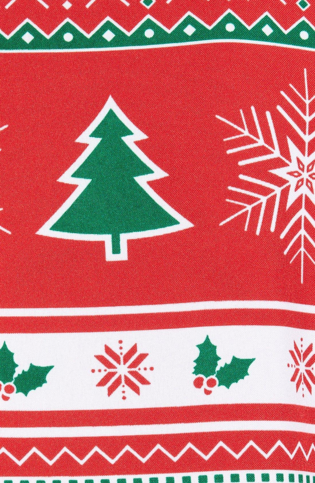 'Winter Wonderland' Trim Fit Two-Piece Suit with Tie,                             Alternate thumbnail 7, color,                             601