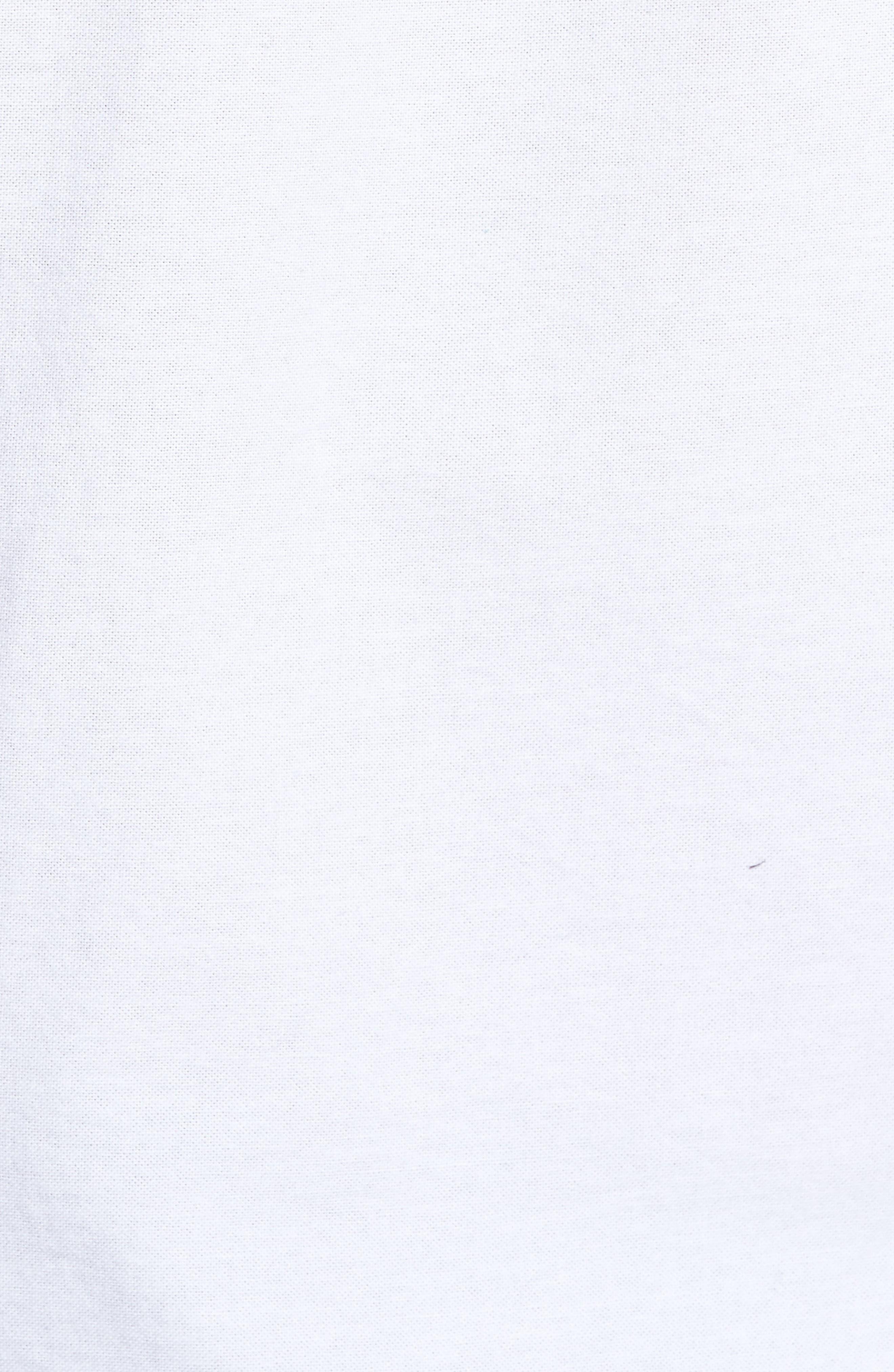 Nash Slim Fit Sport Shirt,                             Alternate thumbnail 5, color,