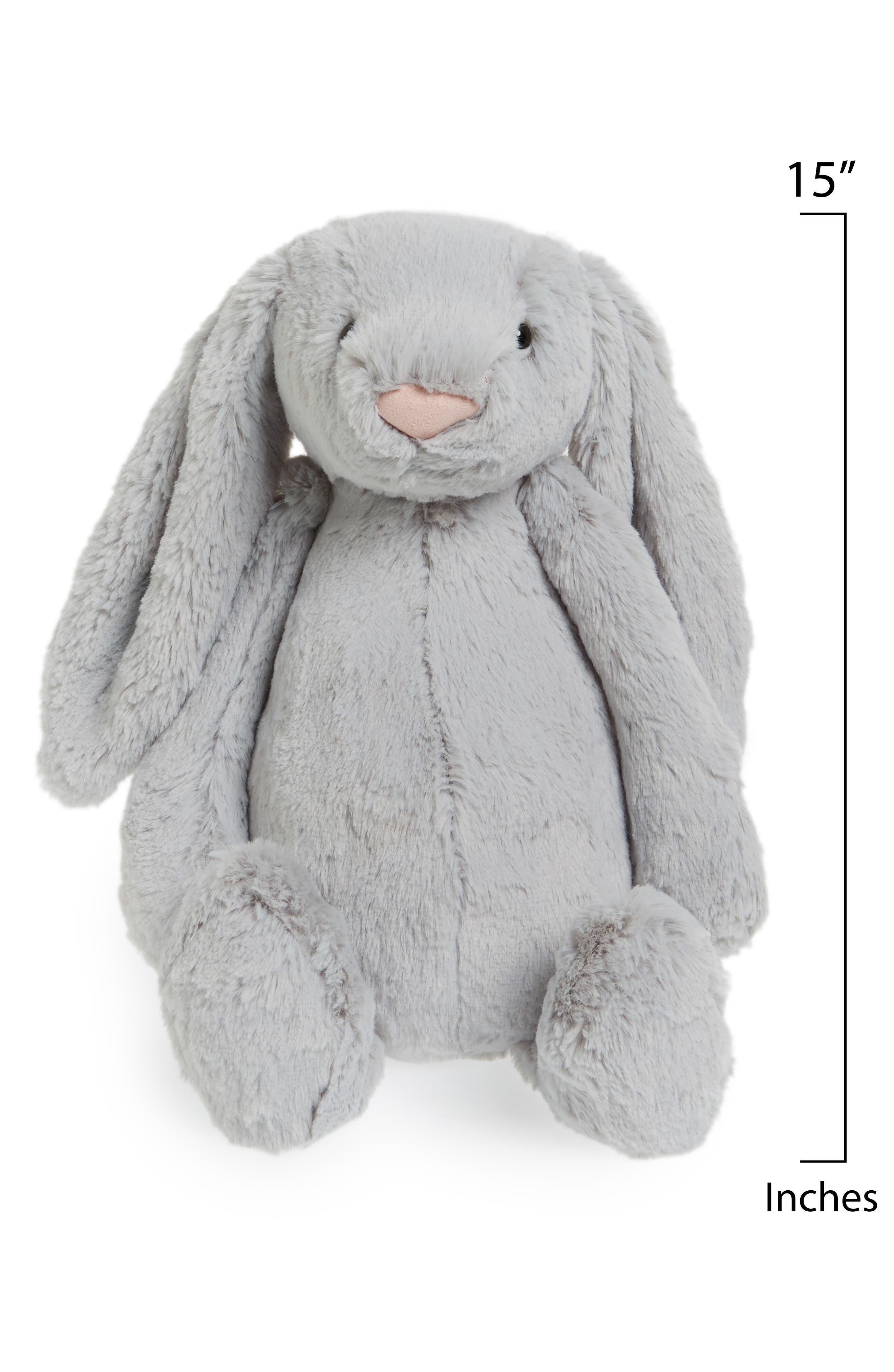 'Large Bashful Bunny' Stuffed Animal,                             Alternate thumbnail 2, color,                             021