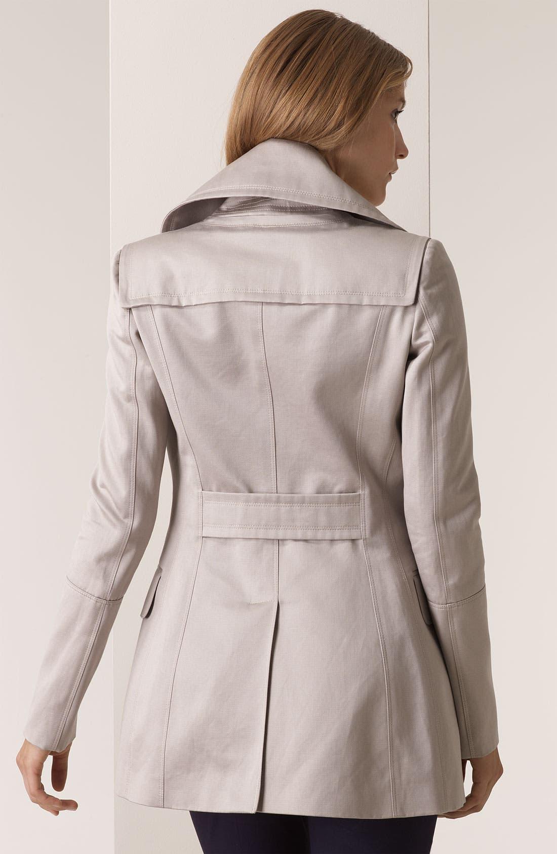 BURBERRY PRORSUM,                             Cotton Sateen Coat,                             Alternate thumbnail 2, color,                             250