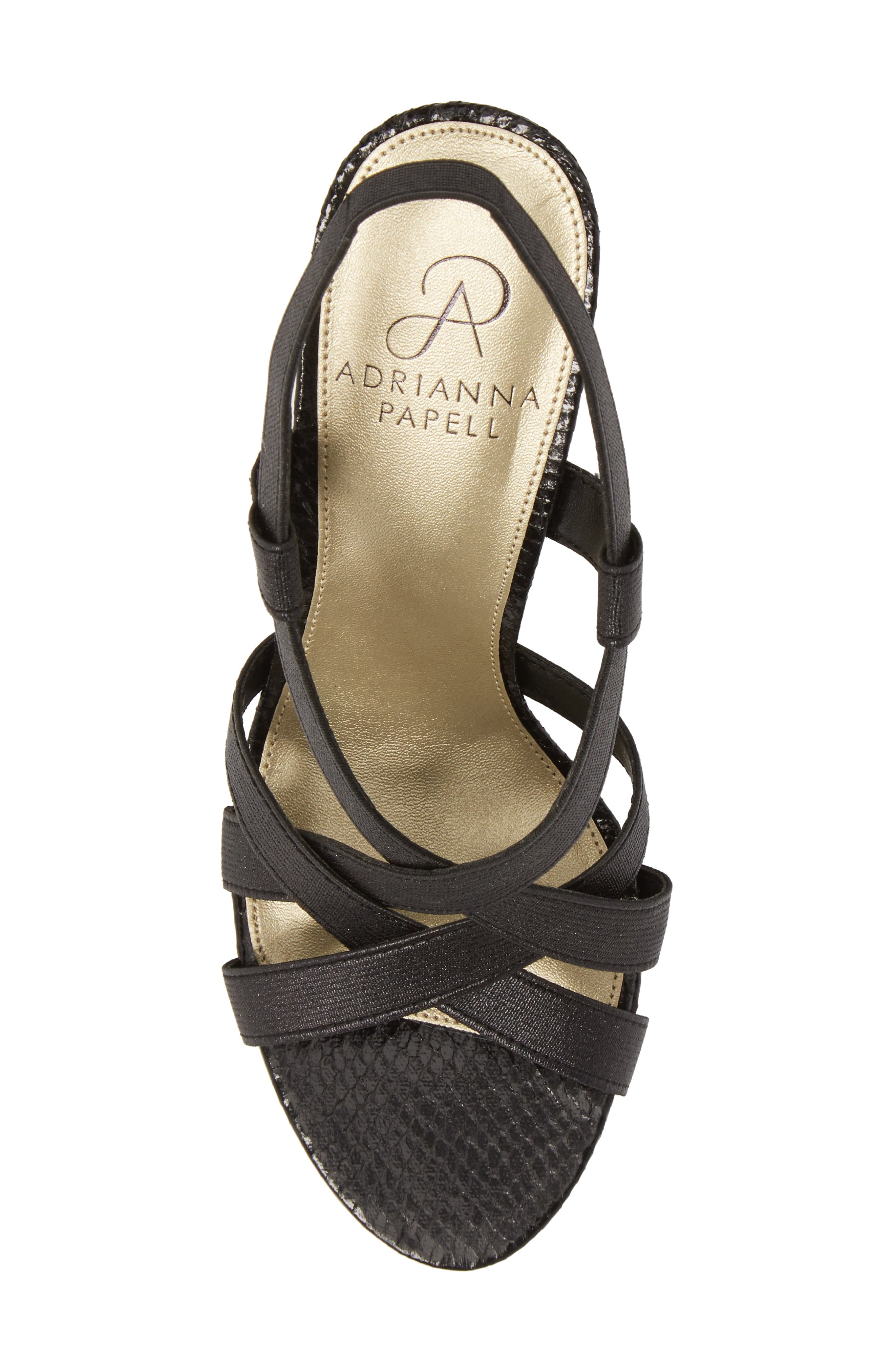 ADRIANNA PAPELL,                             Addie Sandal,                             Alternate thumbnail 5, color,                             001