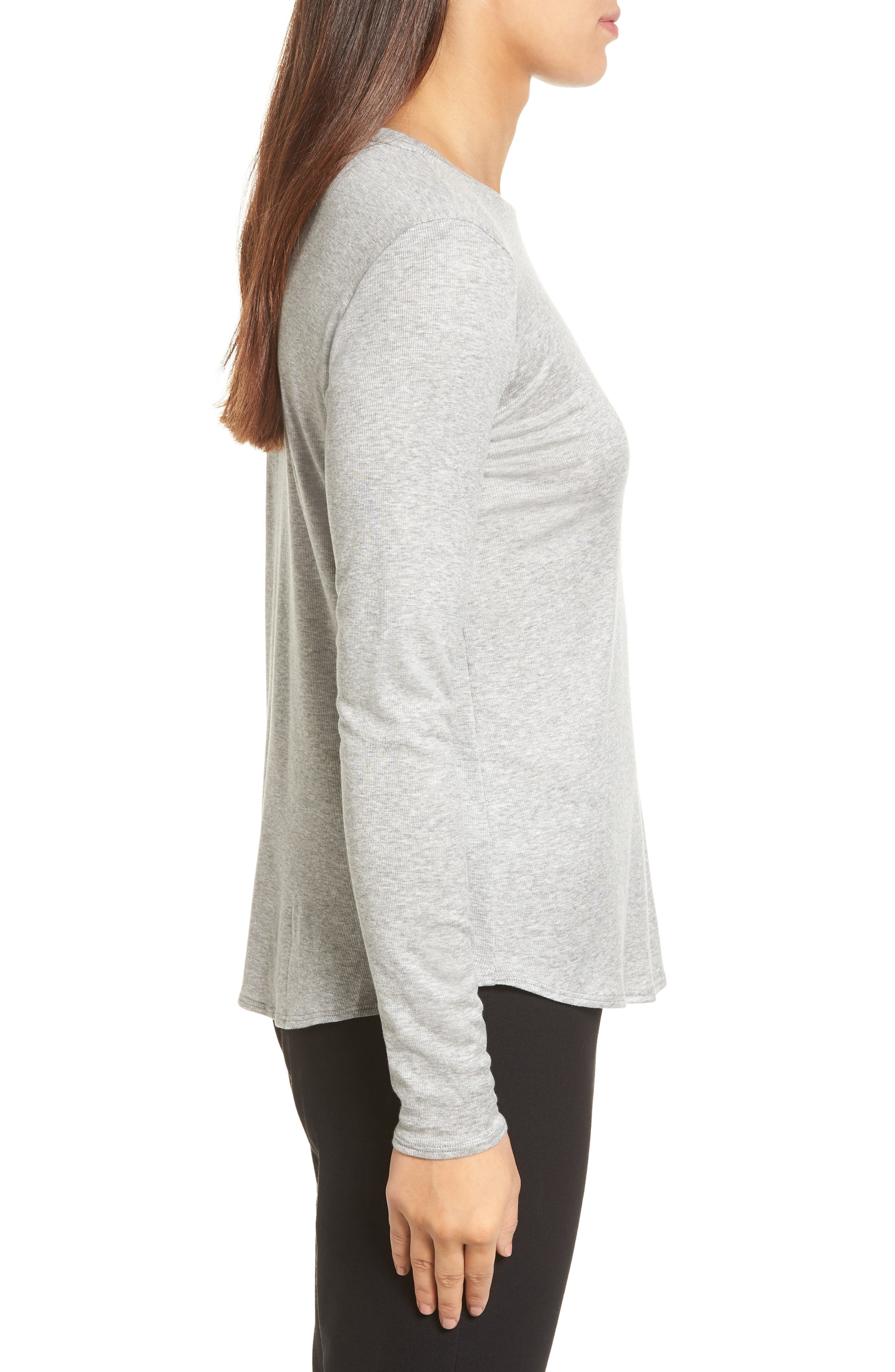 Stretch Tencel<sup>®</sup> Top,                             Alternate thumbnail 3, color,                             052