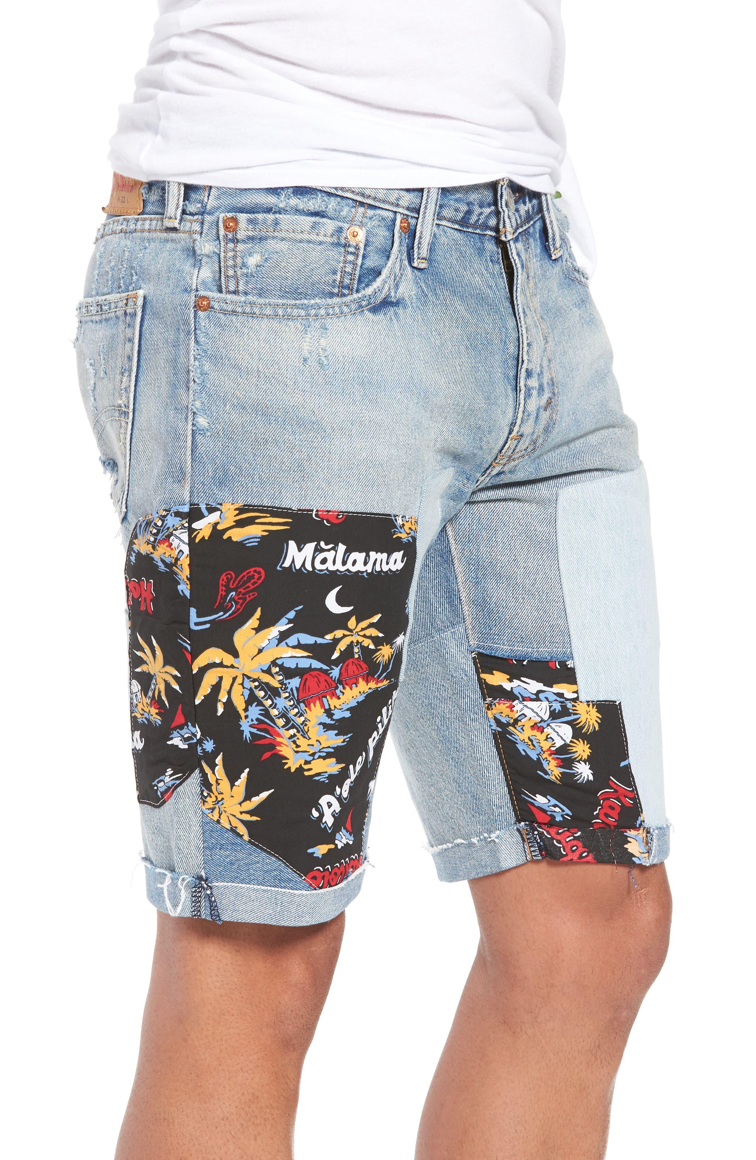 511<sup>®</sup> Cutoff Denim Shorts,                             Alternate thumbnail 3, color,                             420