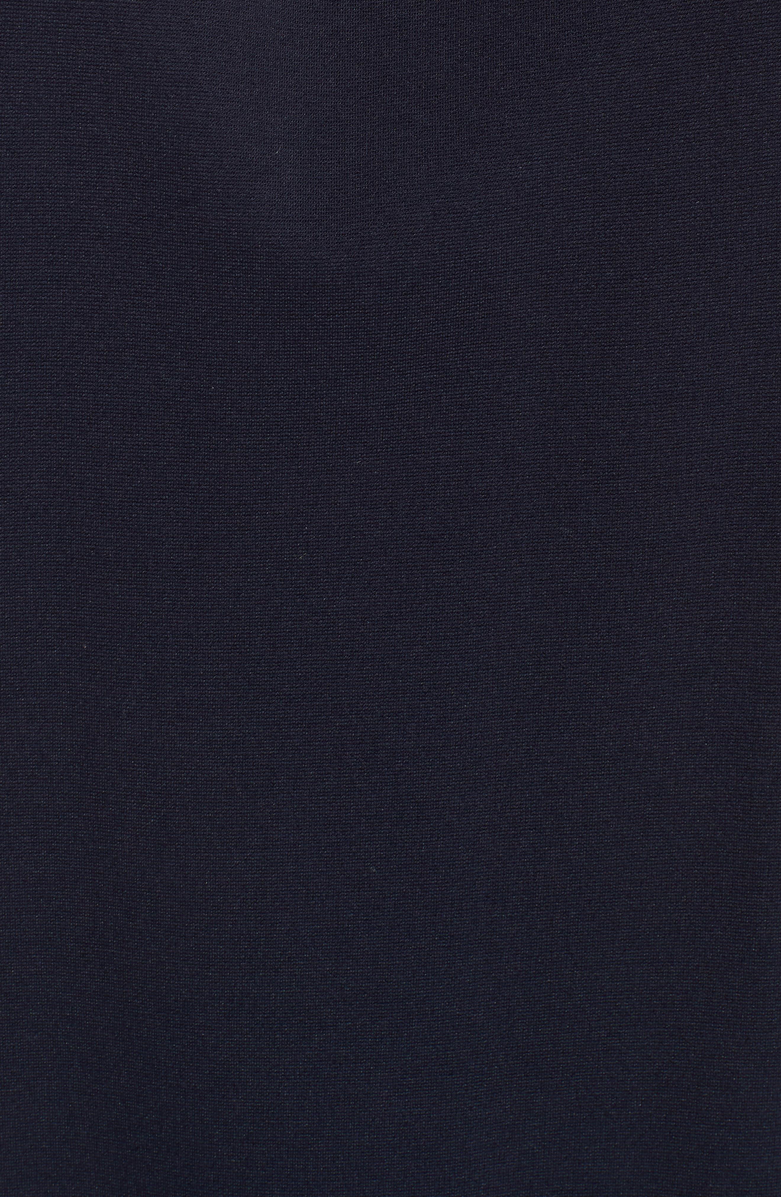 1901,                             Button Back Ponte Dress,                             Alternate thumbnail 6, color,                             415