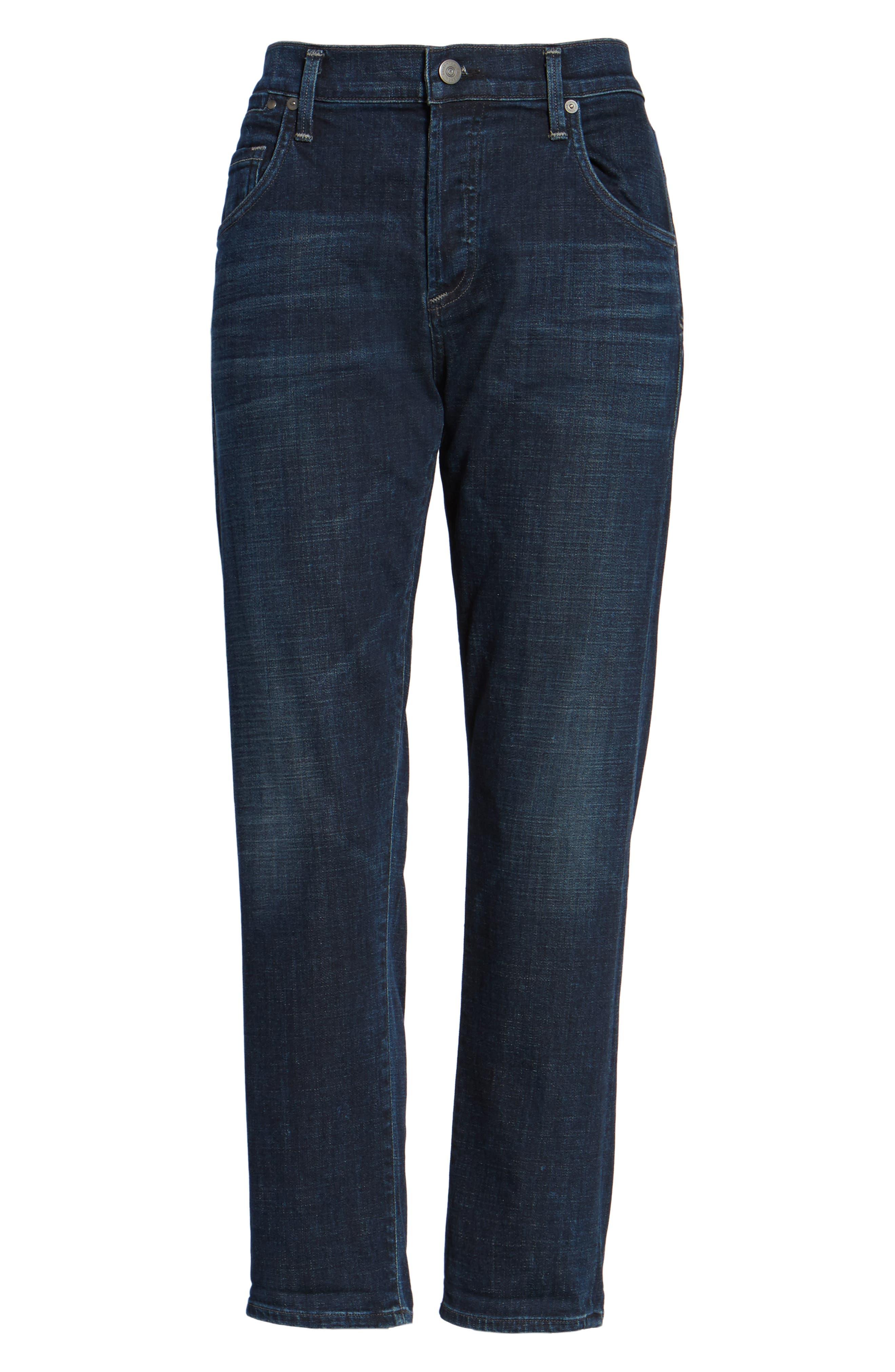 Emerson Slim Boyfriend Jeans,                             Alternate thumbnail 6, color,                             408