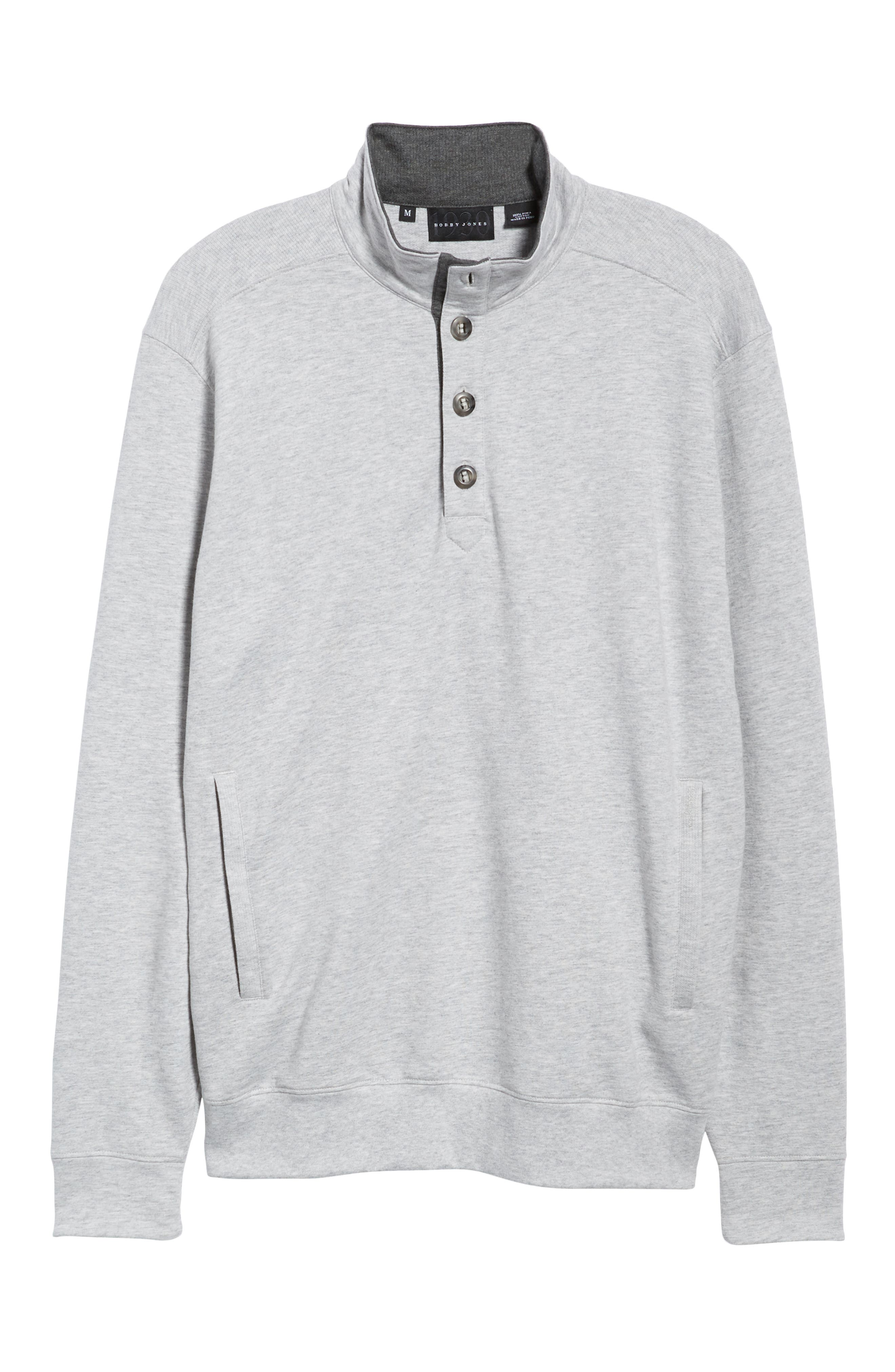 Clubhouse Pullover,                             Alternate thumbnail 6, color,                             GREY