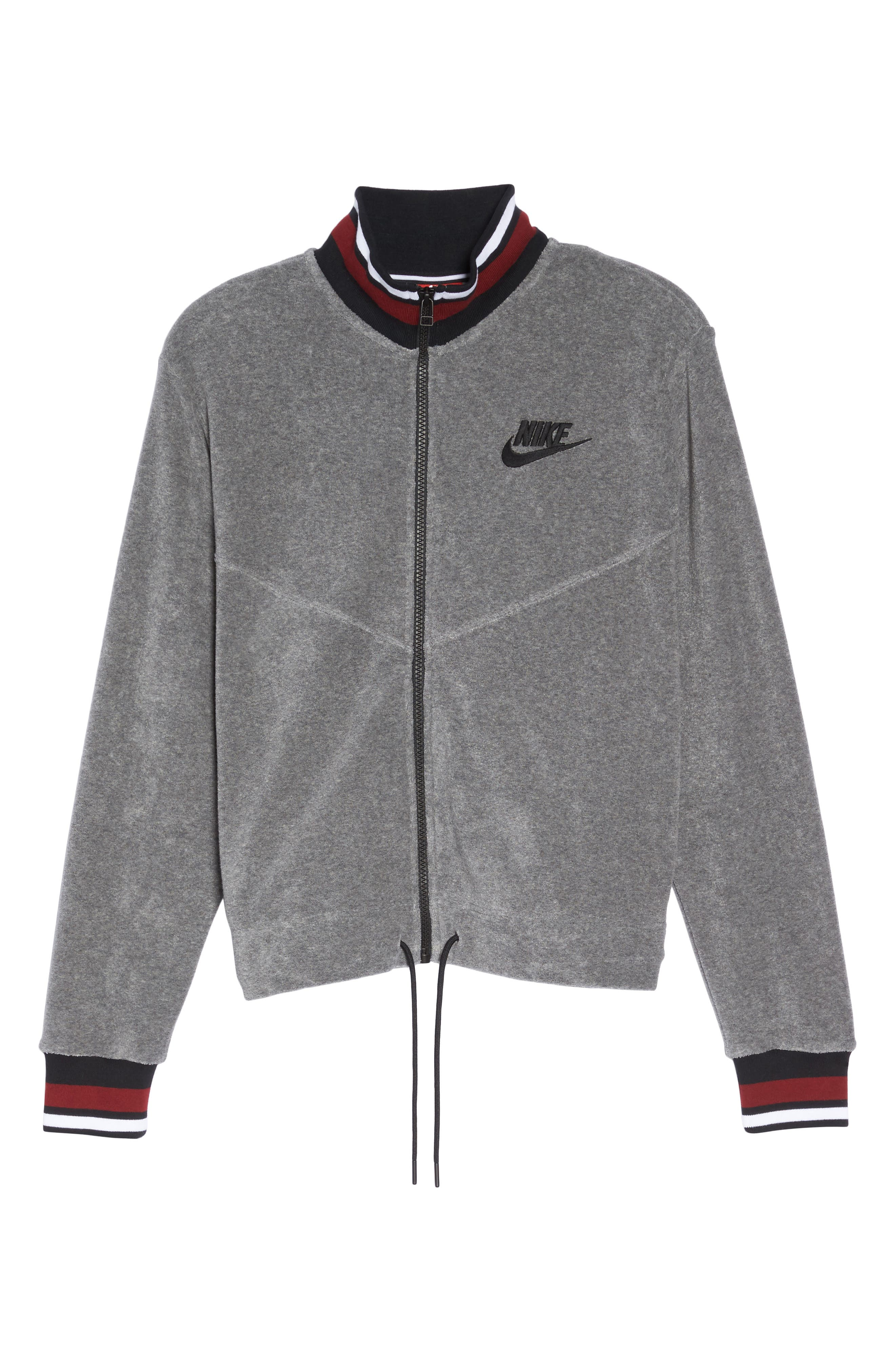 Sportswear French Terry Jacket,                             Alternate thumbnail 6, color,                             020