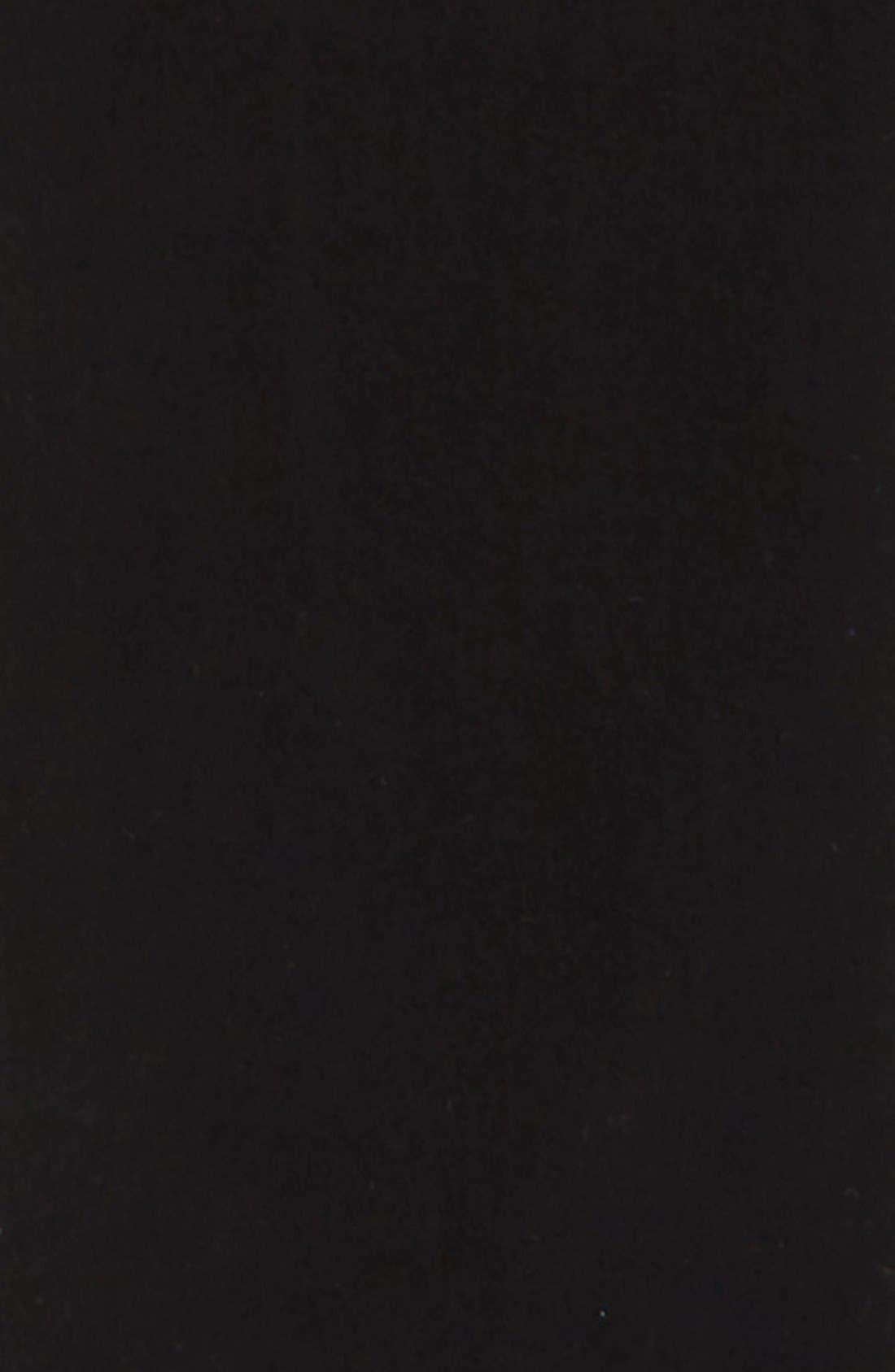 Slim Fit Stretch Chinos,                             Alternate thumbnail 6, color,                             BLACK