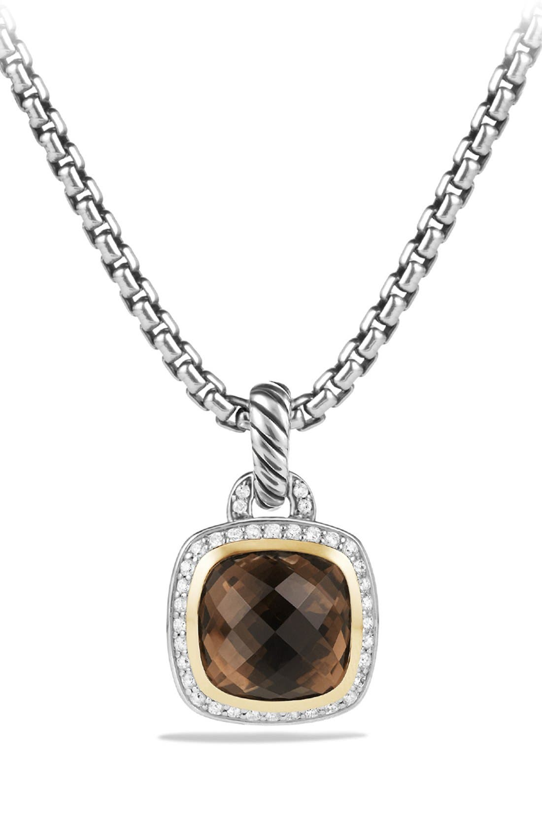 'Albion' Pendant with Diamonds and 18K Gold,                         Main,                         color, 200