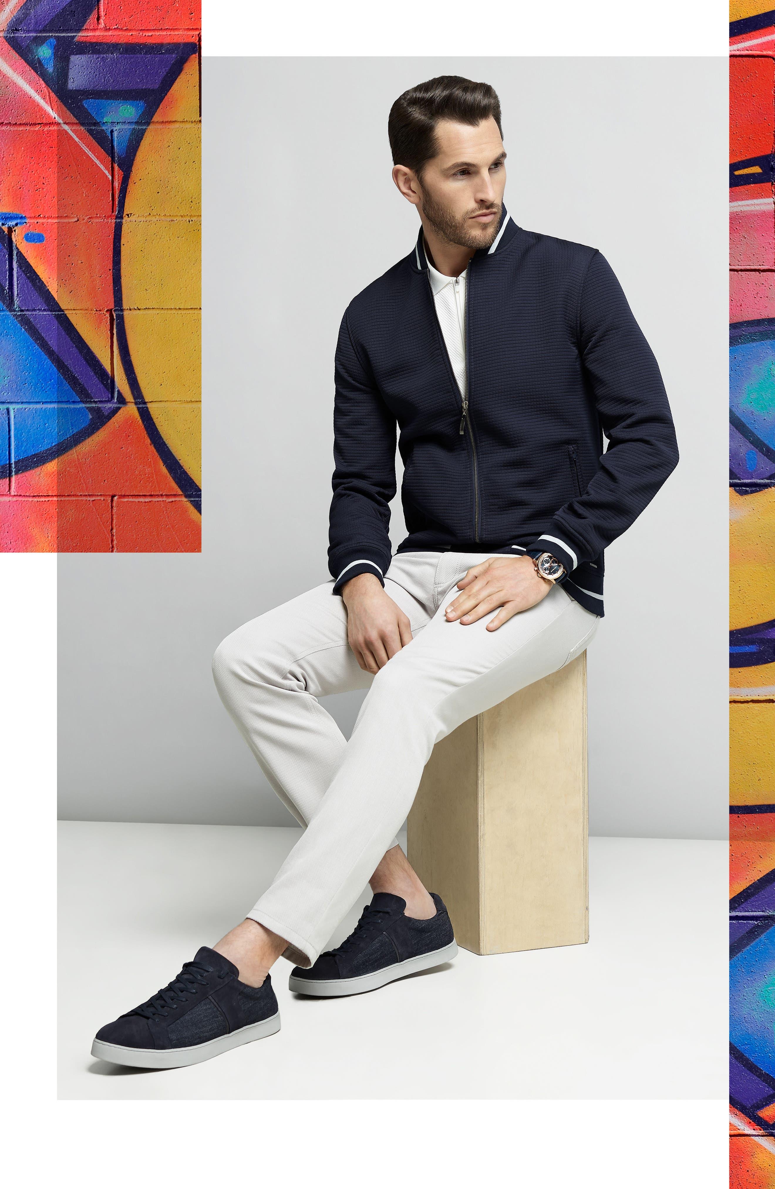 Slim Fit Mesh Polo,                         Main,                         color,