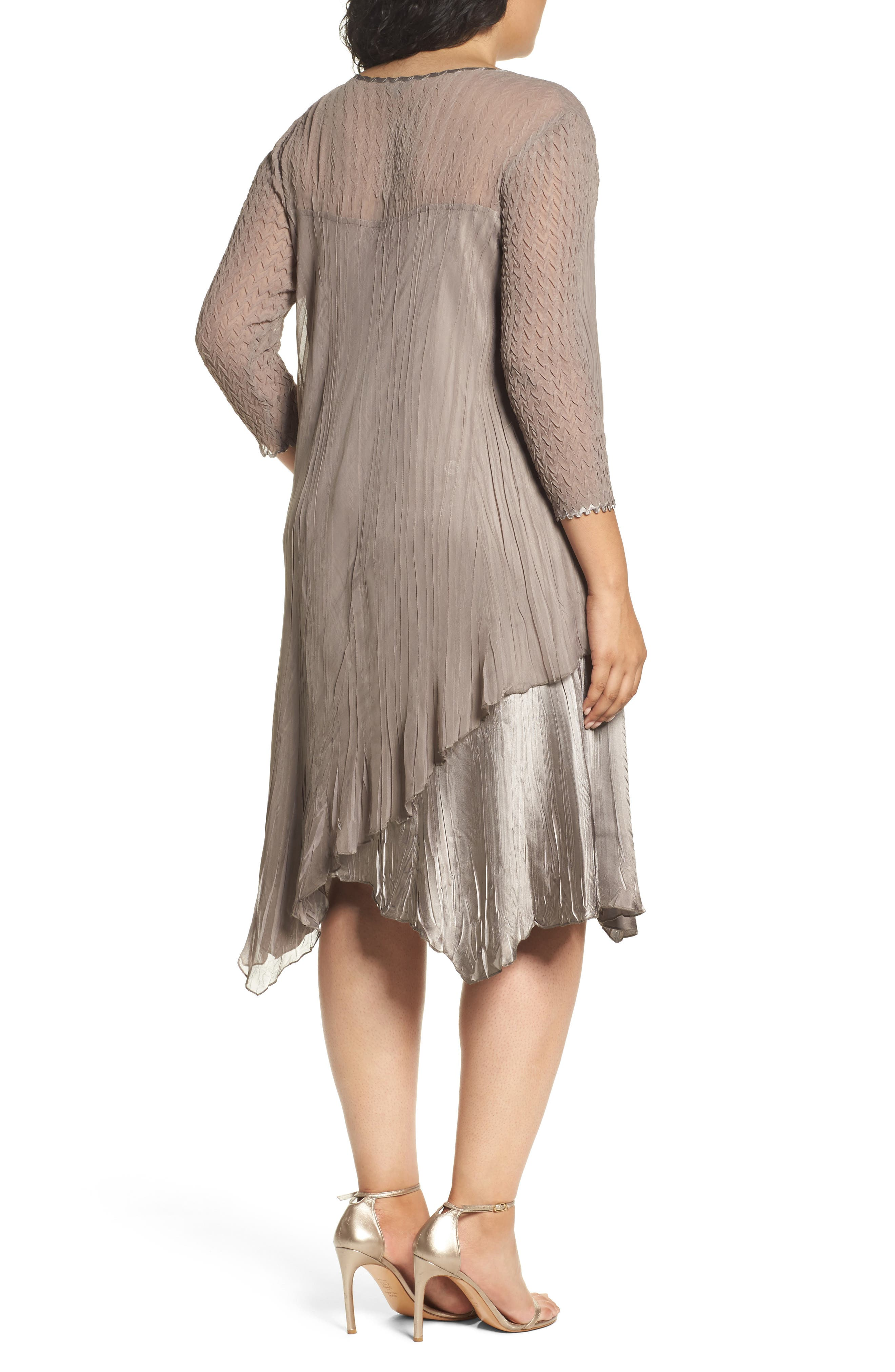 Tiered Dress,                             Alternate thumbnail 2, color,                             251