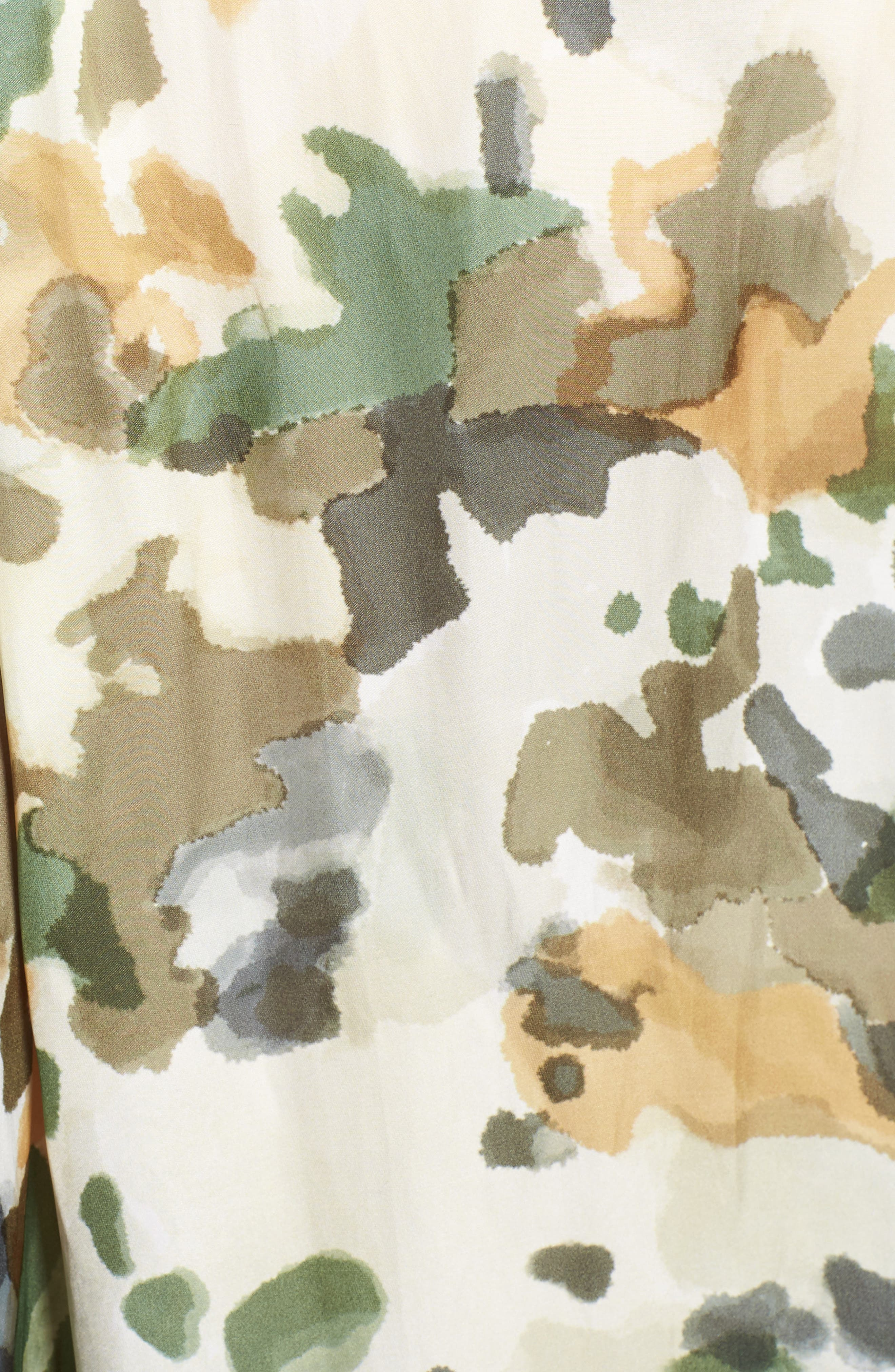 Tink Camouflage Top,                             Alternate thumbnail 5, color,                             BEIGE