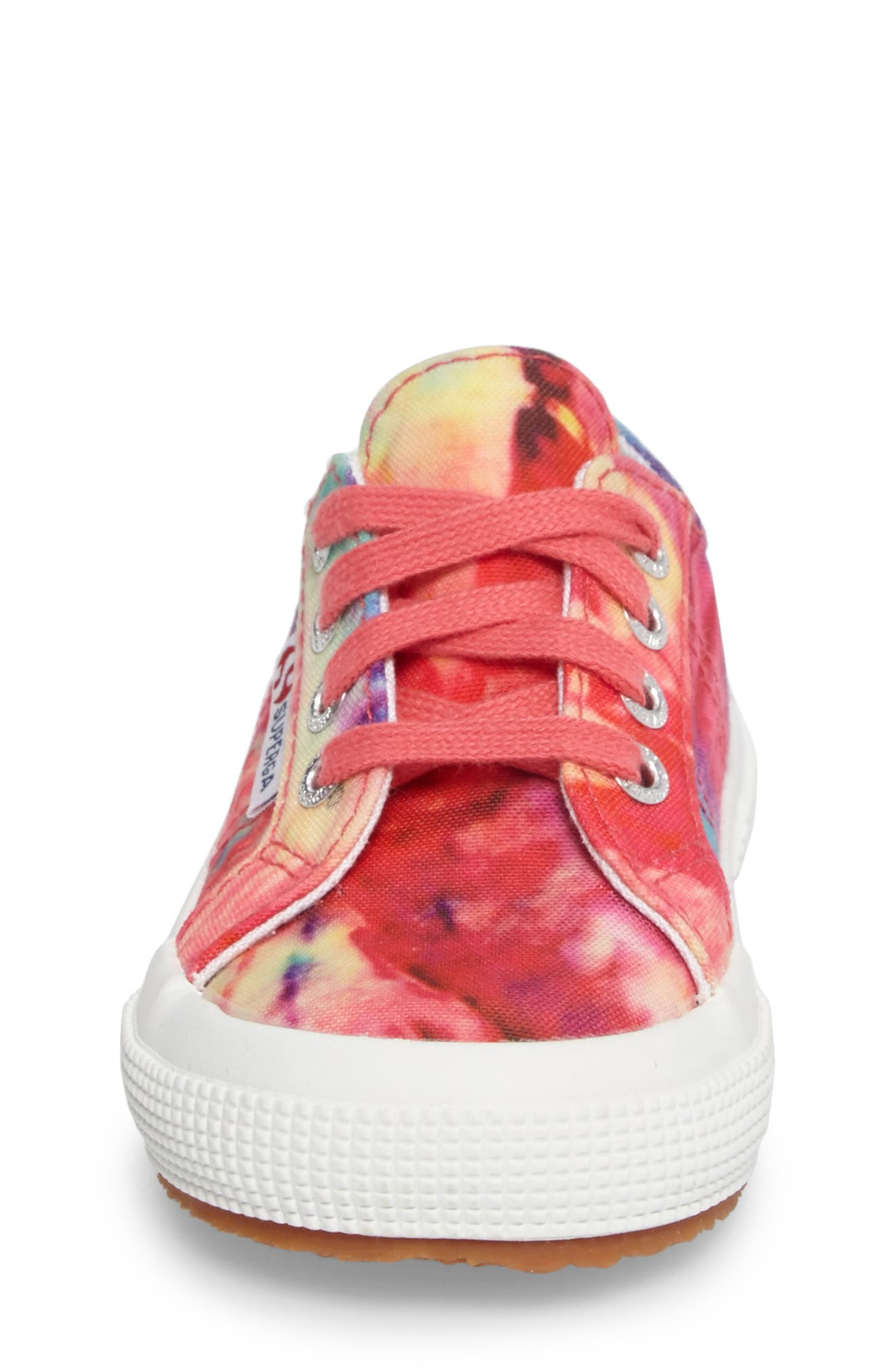 Tie Dye Classic Sneaker,                             Alternate thumbnail 4, color,