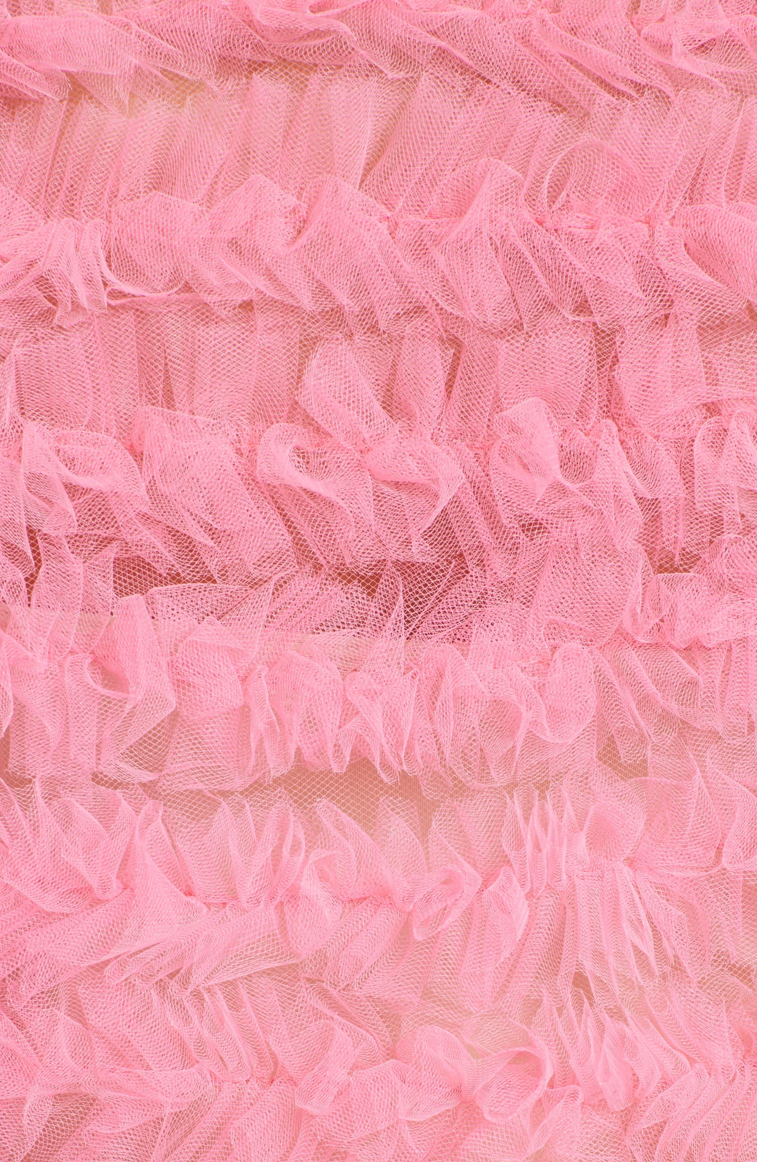 Funky Tulle Dress,                             Alternate thumbnail 6, color,